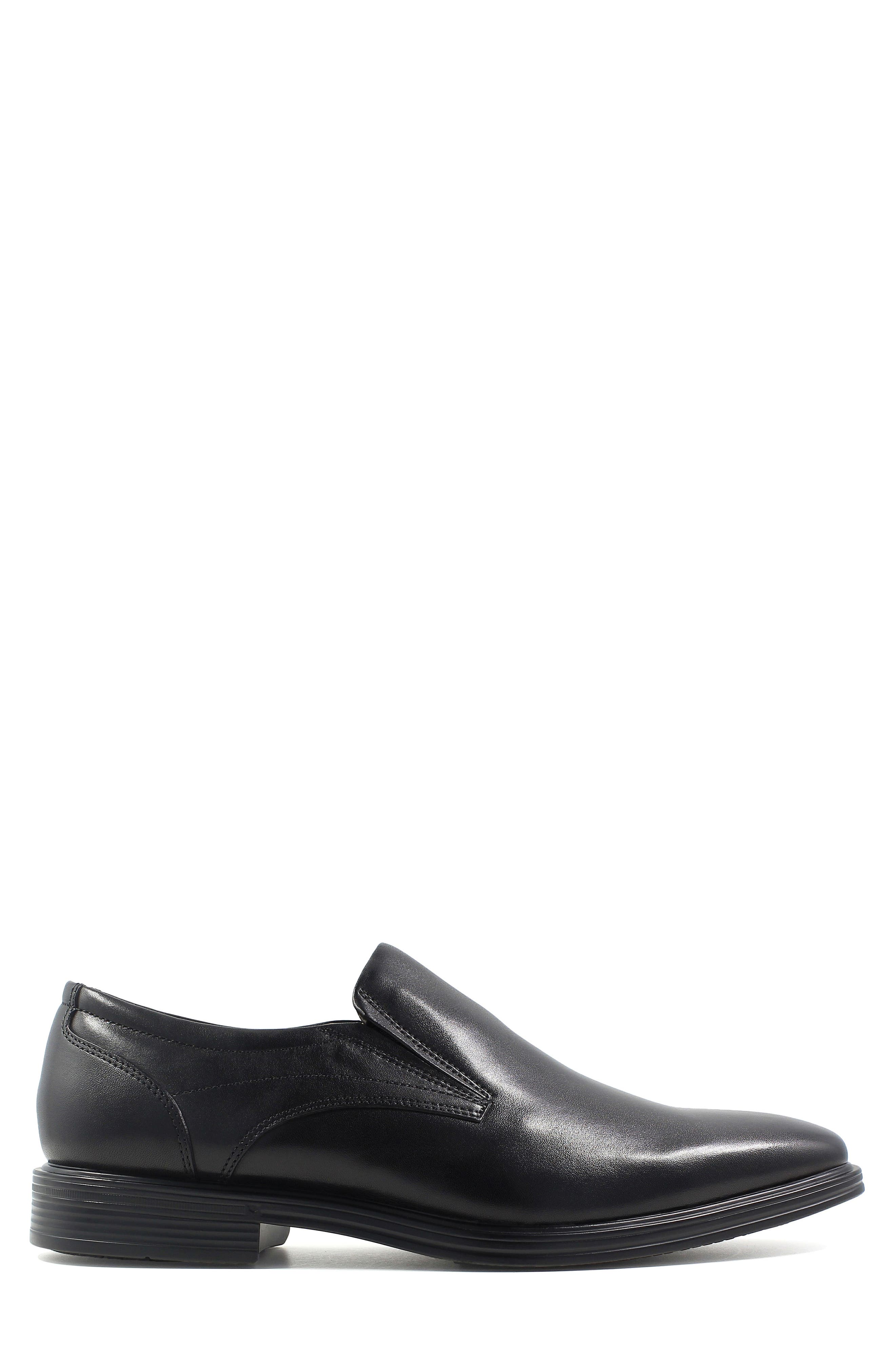 Heights Venetian Loafer,                             Alternate thumbnail 3, color,                             Black