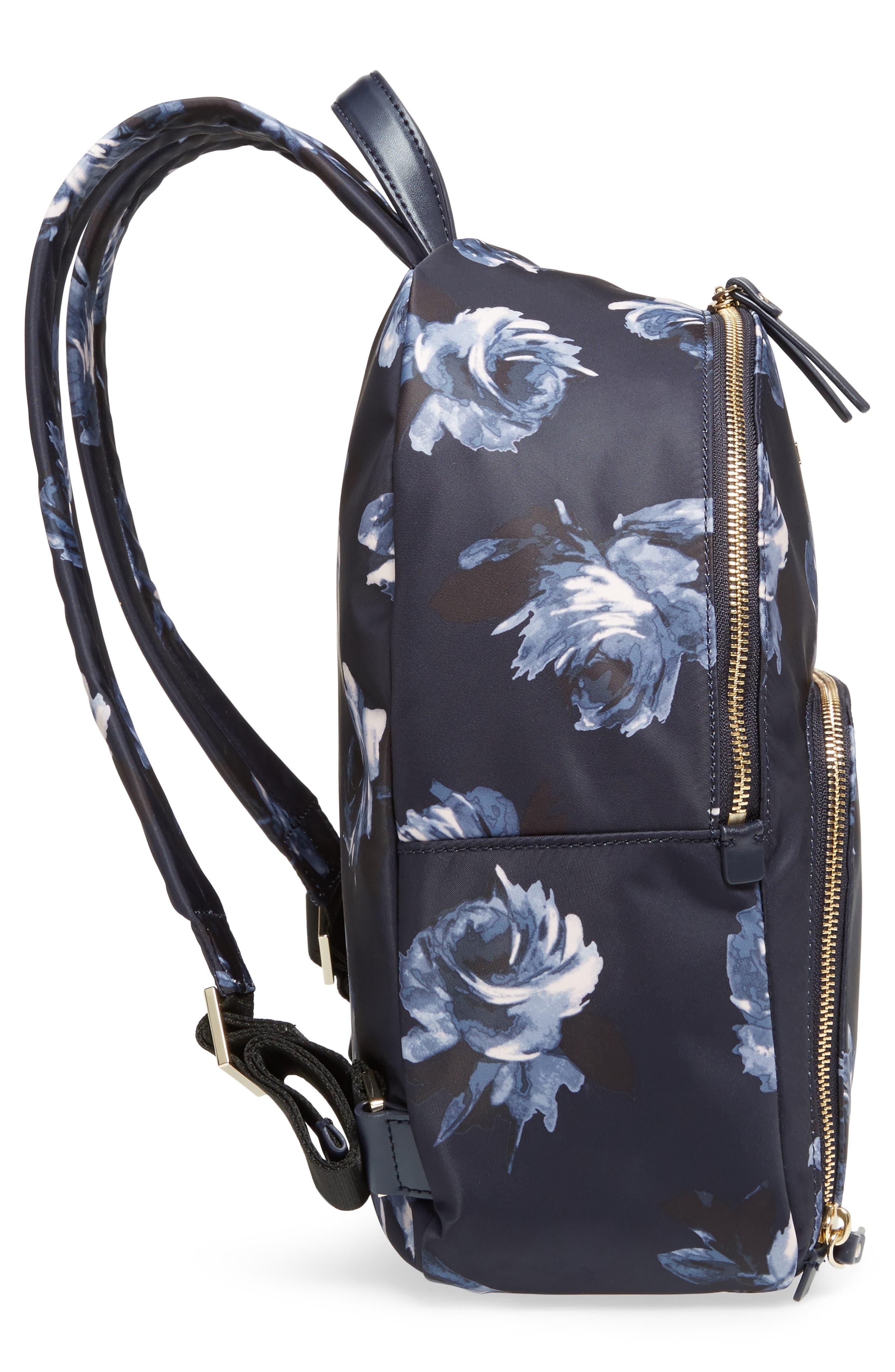 watson lane night rose hartley nylon backpack,                             Alternate thumbnail 5, color,                             Night Rose
