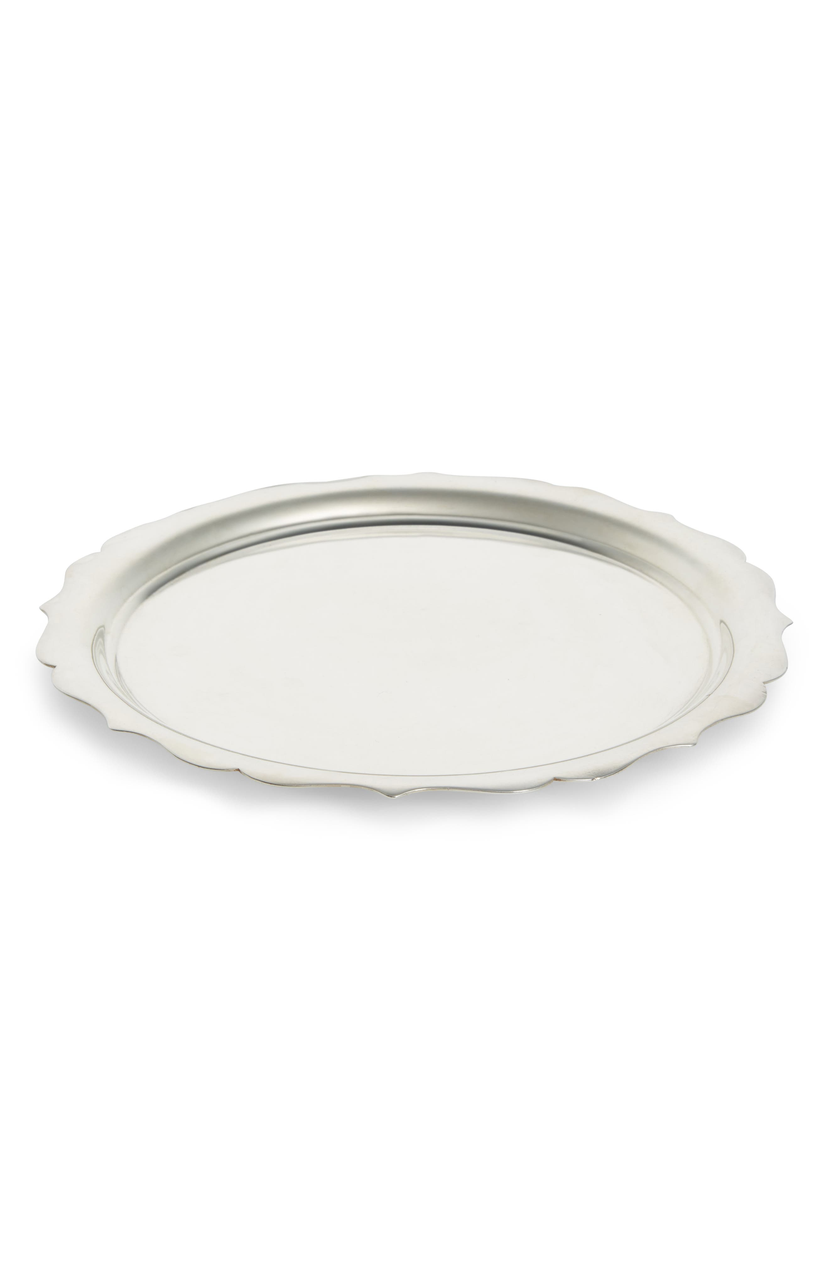 Walker & Hall One of a Kind Vintage Silver Plated Catchall,                             Main thumbnail 1, color,                             Plated Silver
