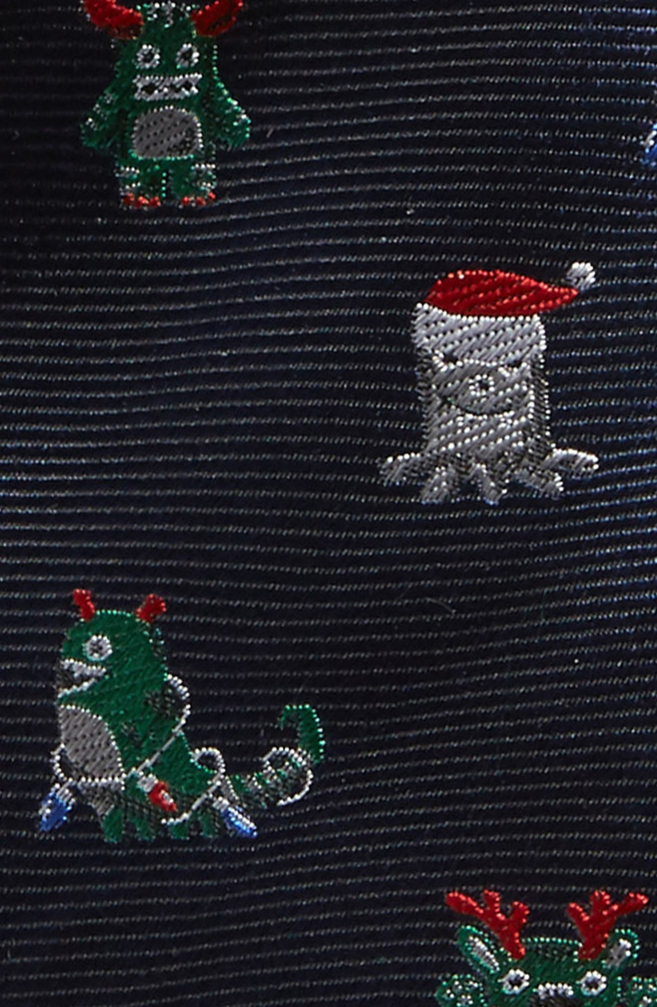 Alternate Image 2  - Nordstrom Patterned Silk Tie (Big Boys)