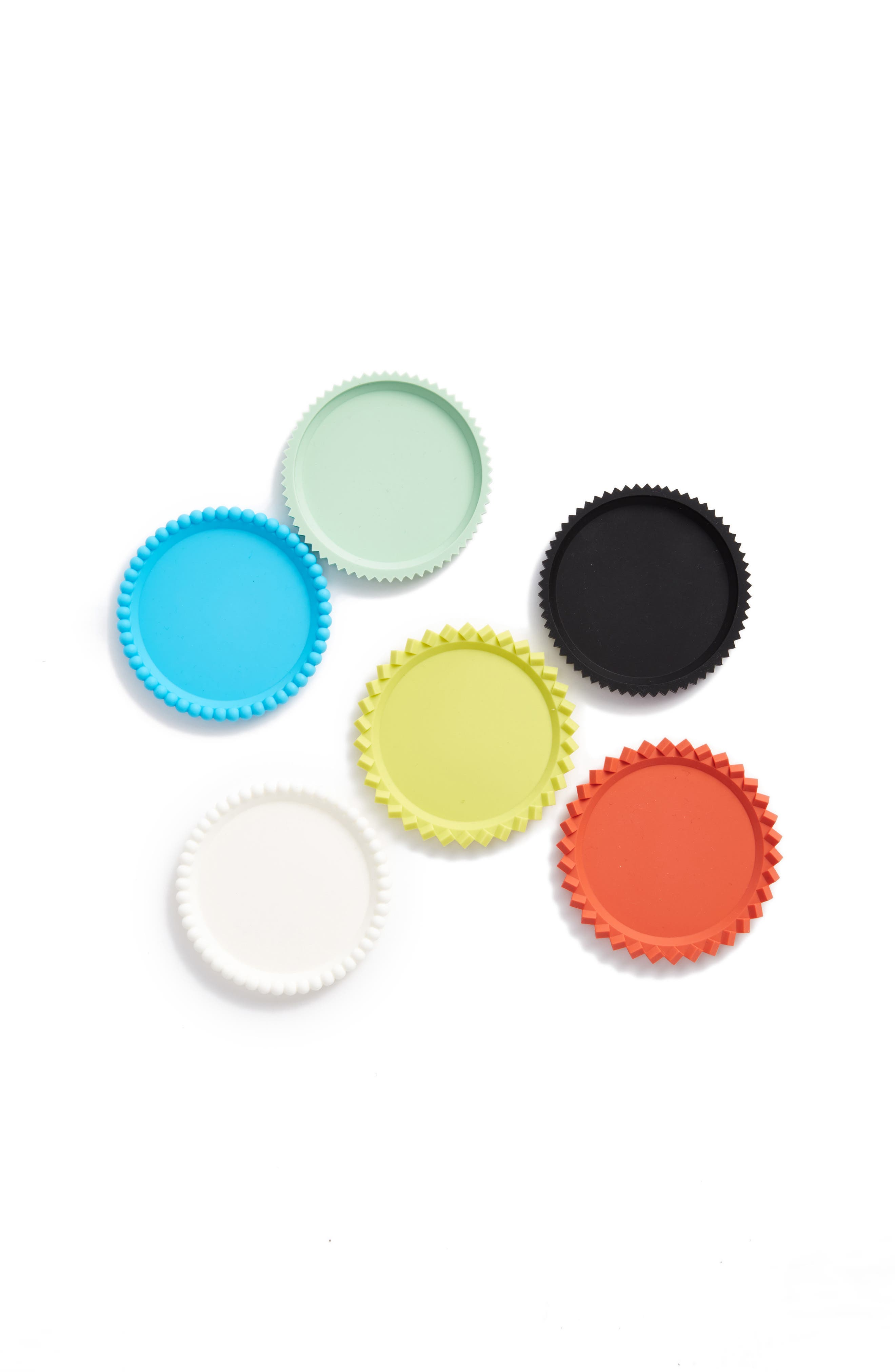 MoMA Design Store Set of 6 Geo Stacking Coasters