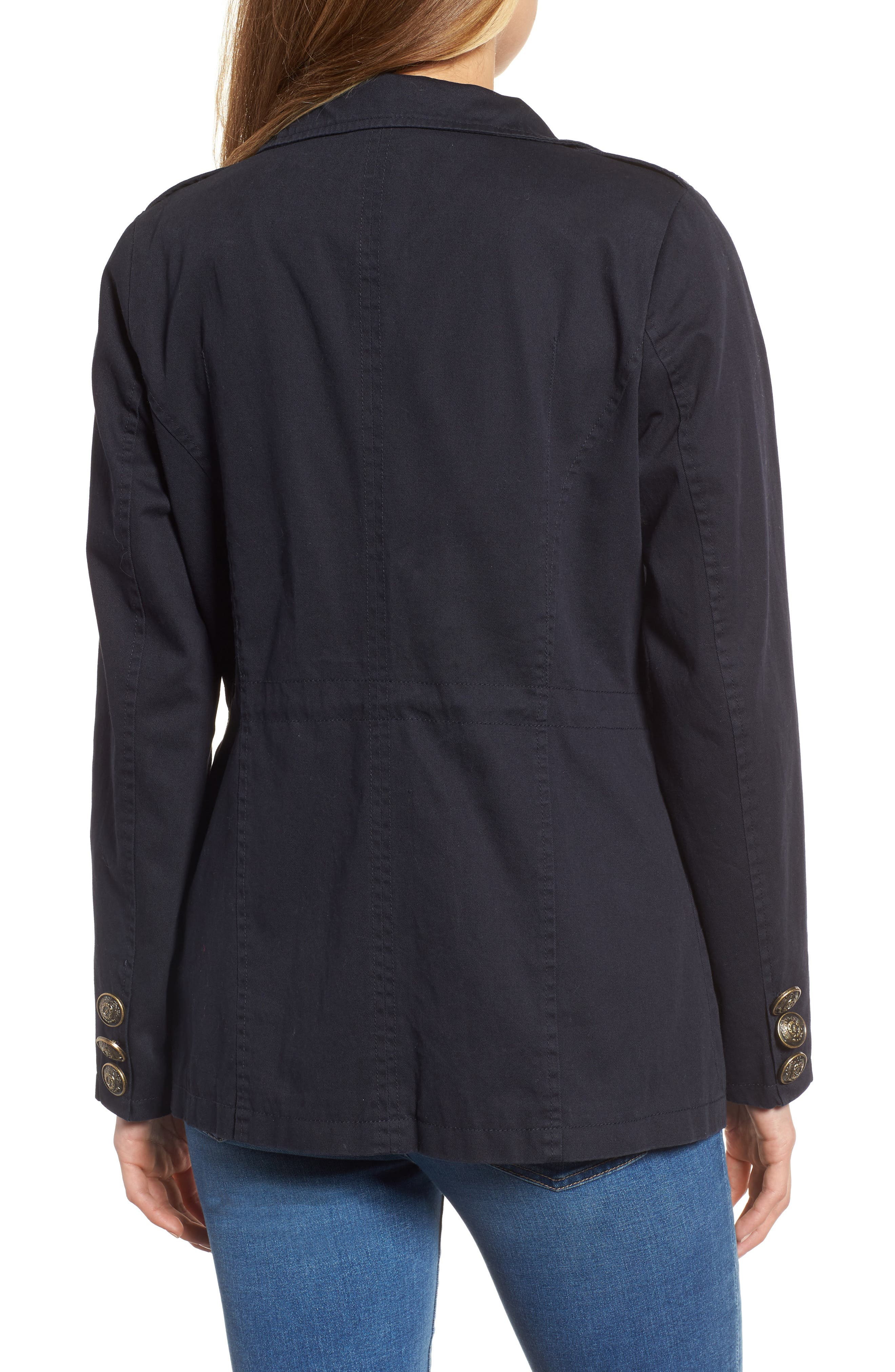 Alternate Image 2  - Steve Madden Embellished Utility Jacket