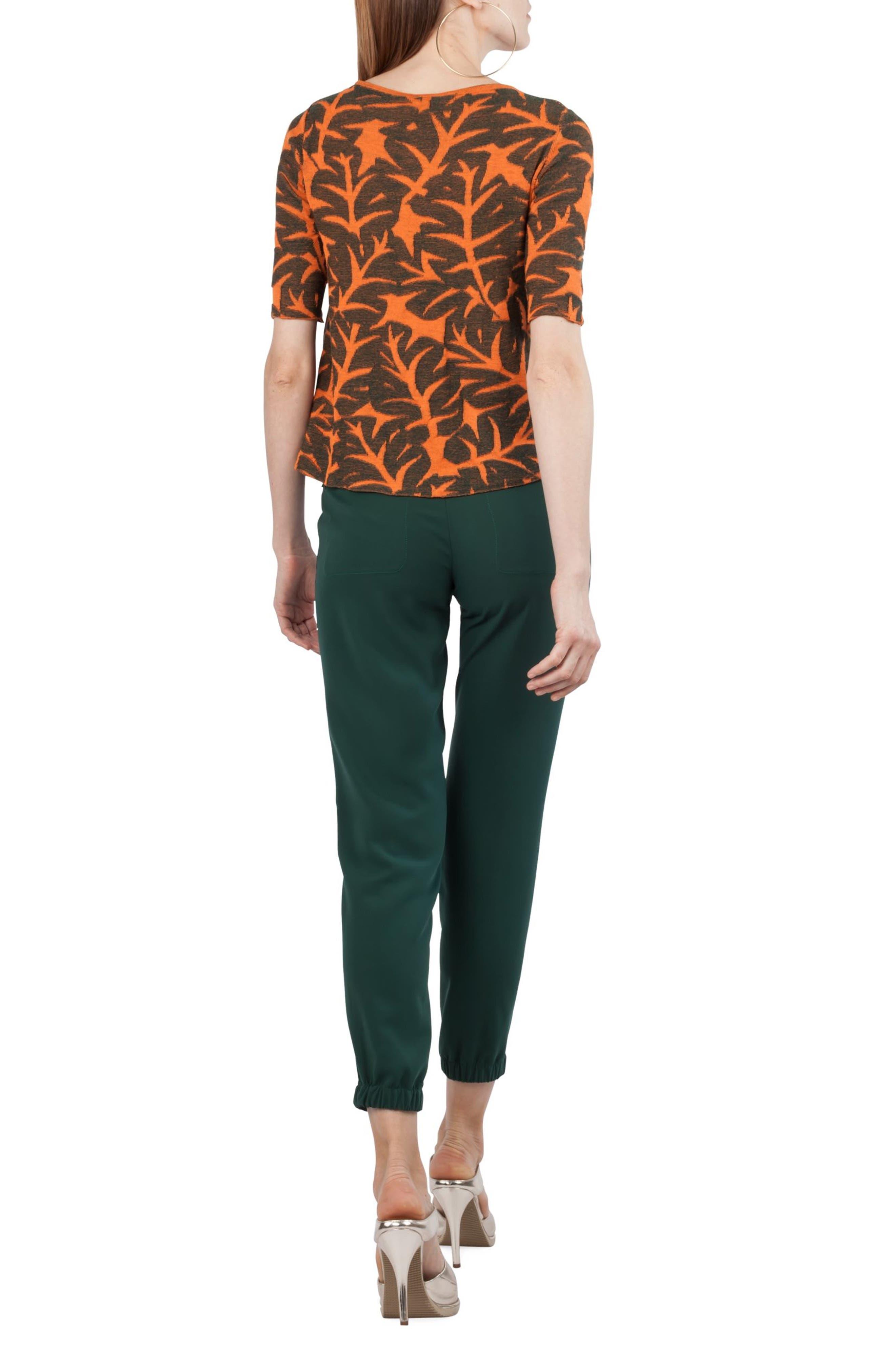 Florette Cargo Pants,                             Alternate thumbnail 4, color,                             Palm Leaf