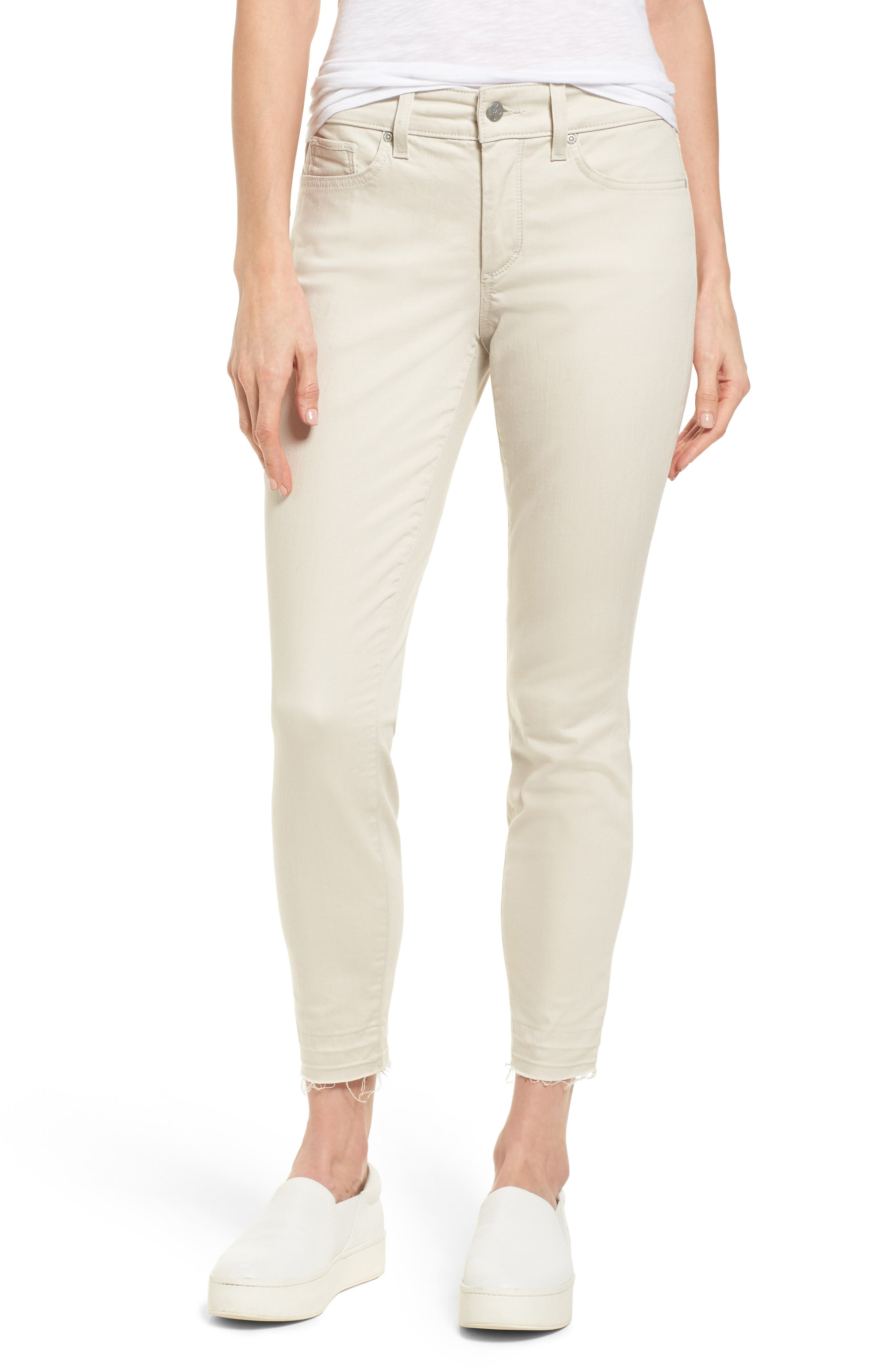 Ami Release Hem Jeans,                             Main thumbnail 1, color,                             Clay