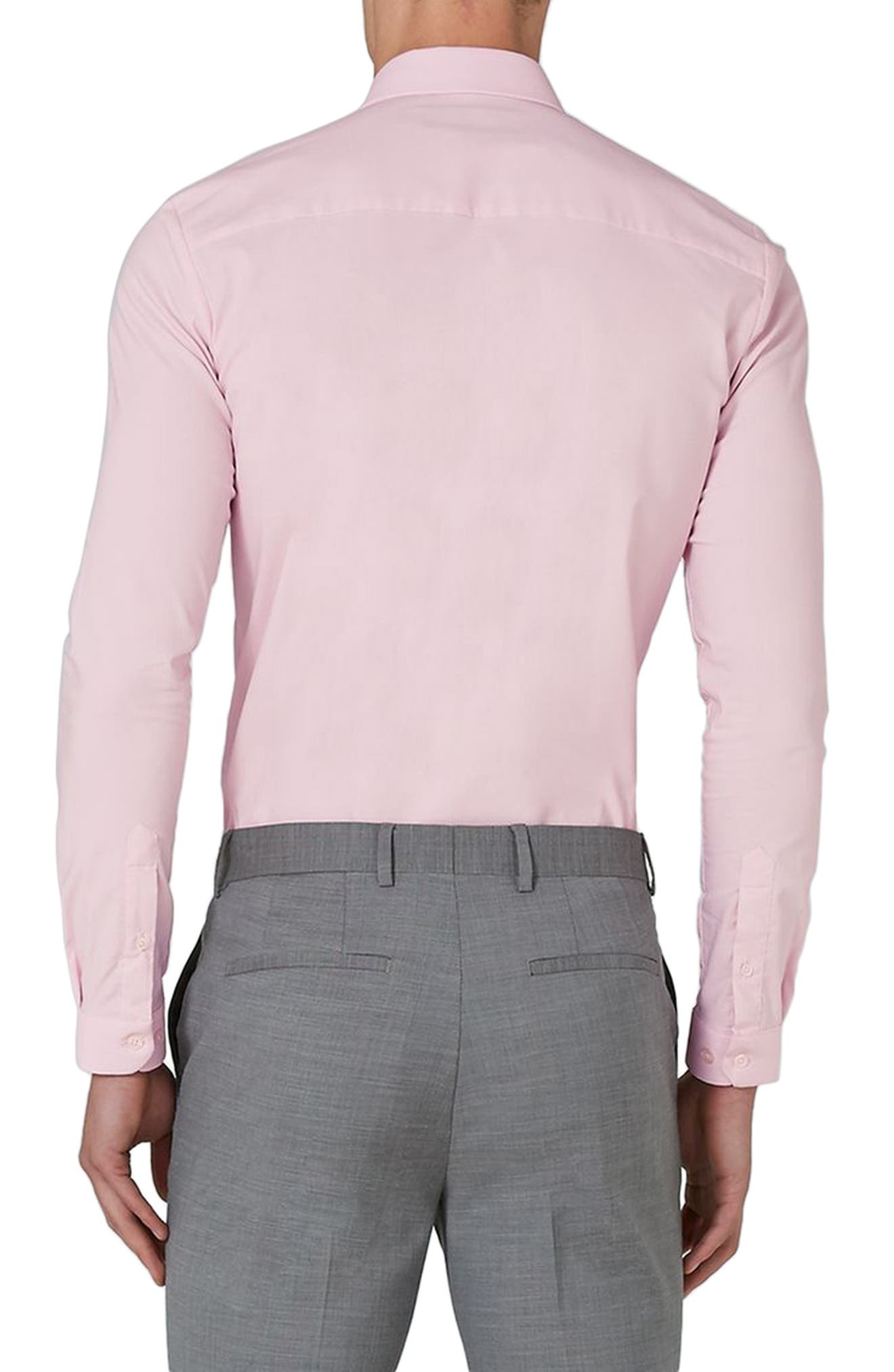 Alternate Image 2  - Topman Muscle Fit Dress Shirt