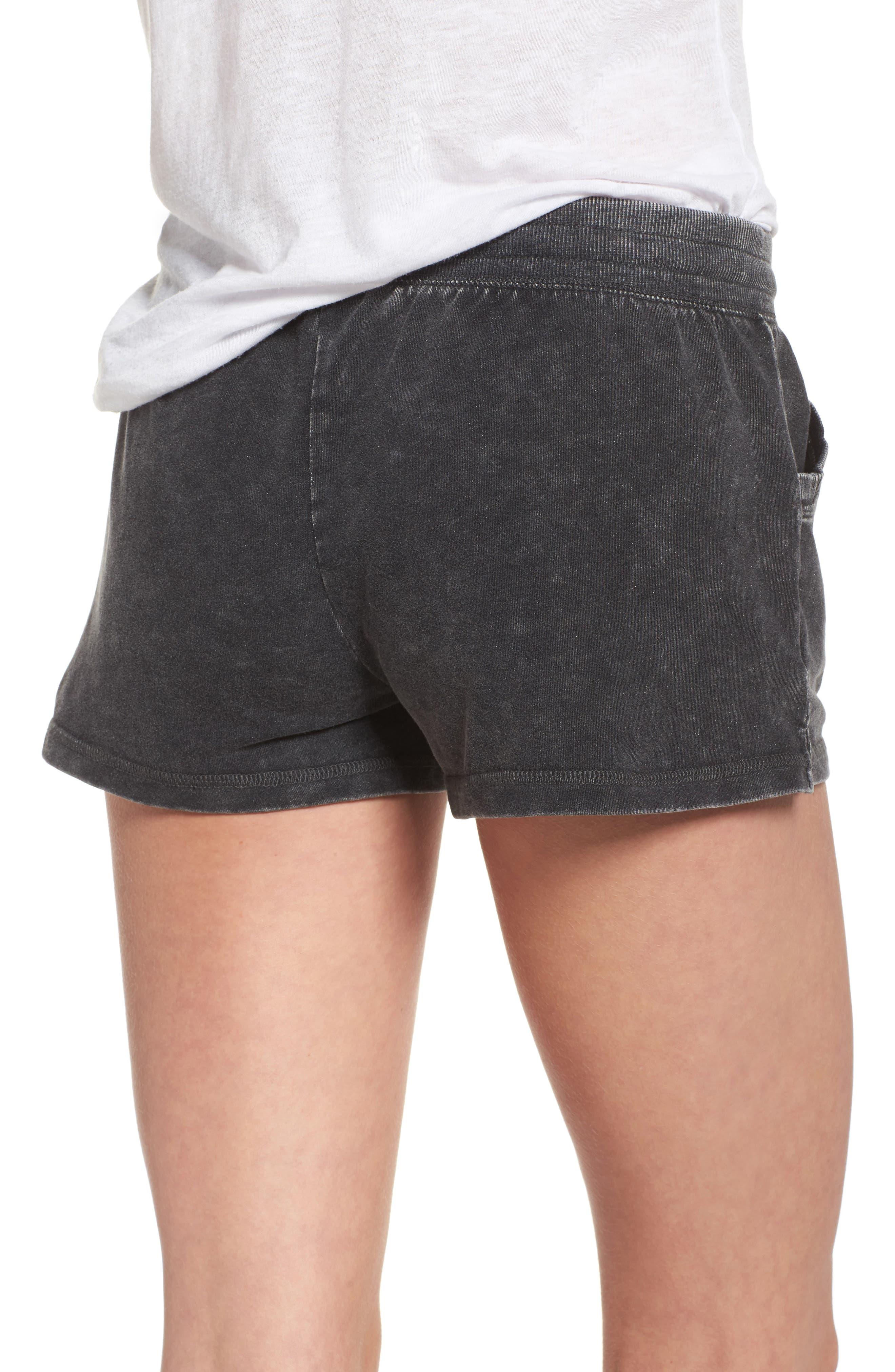 Lounge Shorts,                             Alternate thumbnail 2, color,                             Black
