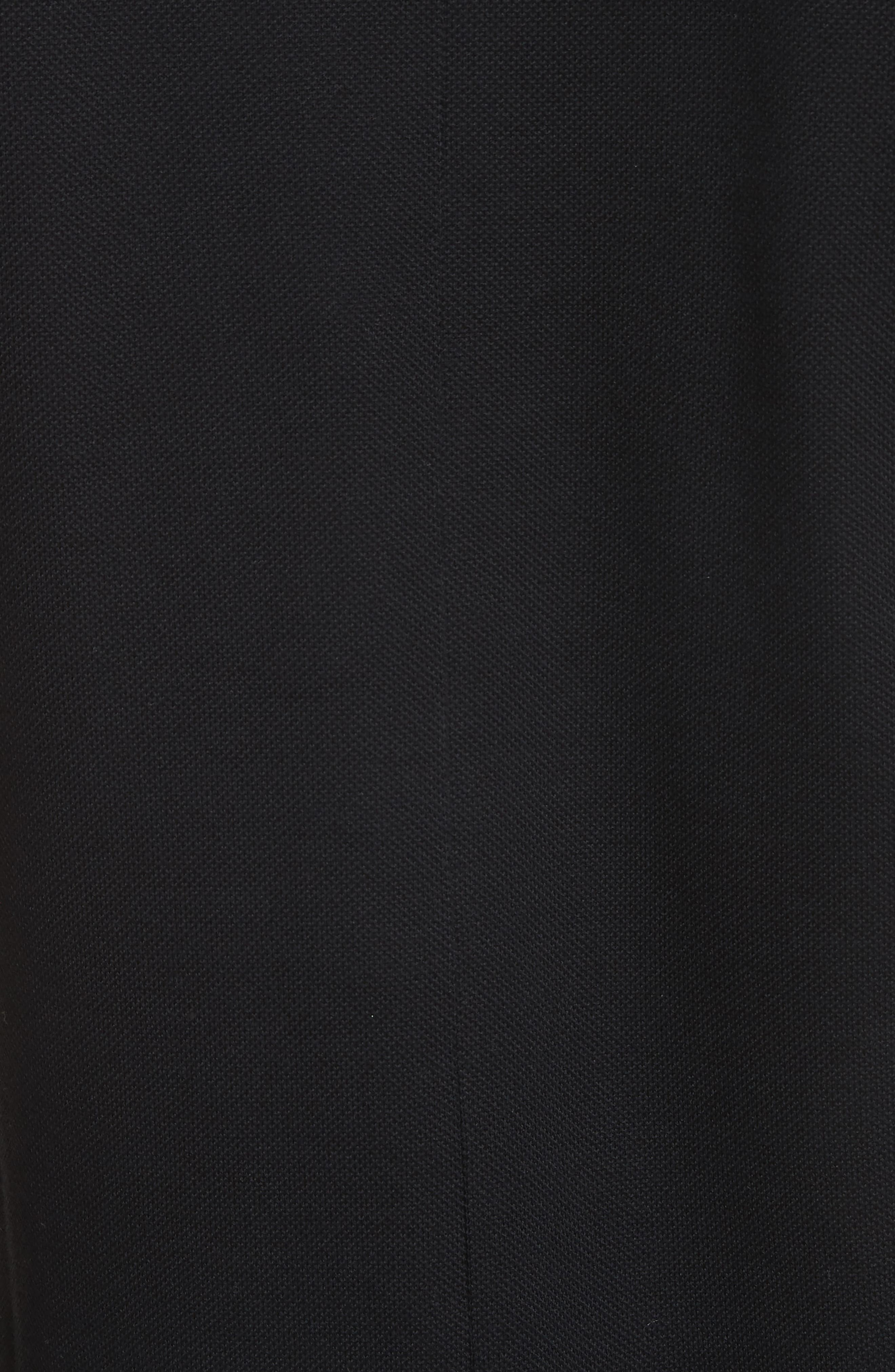 Givenchcy Logo Polo Shirt,                             Alternate thumbnail 5, color,                             Black