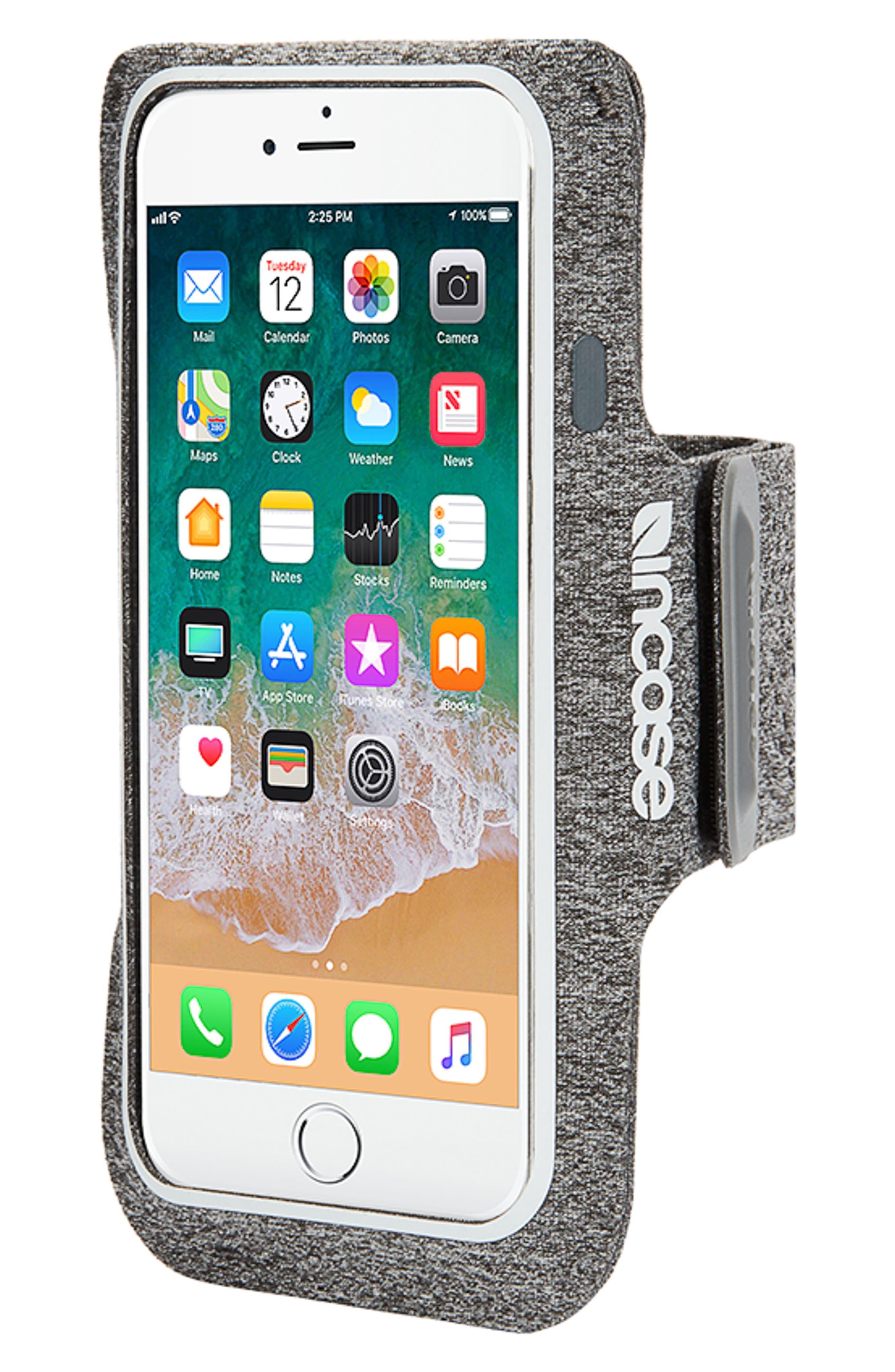 iPhone 7/8 Plus Active Armband,                             Alternate thumbnail 2, color,                             Heather Grey