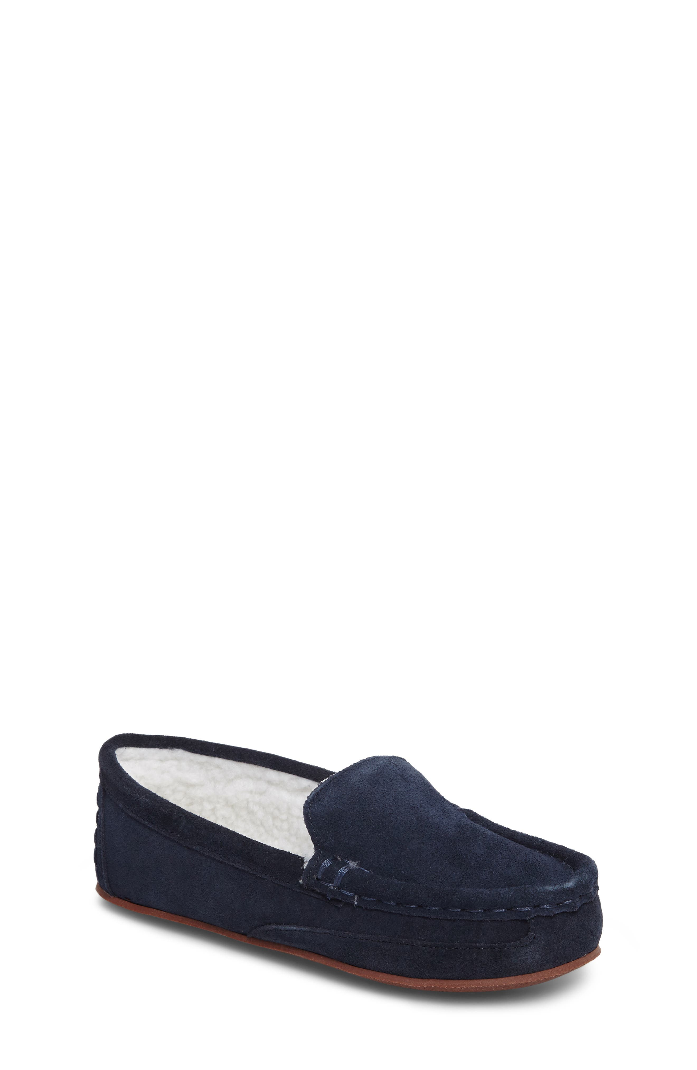 Tucker + Tate Corbin Faux Fur Lined Moccasin (Toddler, Little Kid & Big Kid)