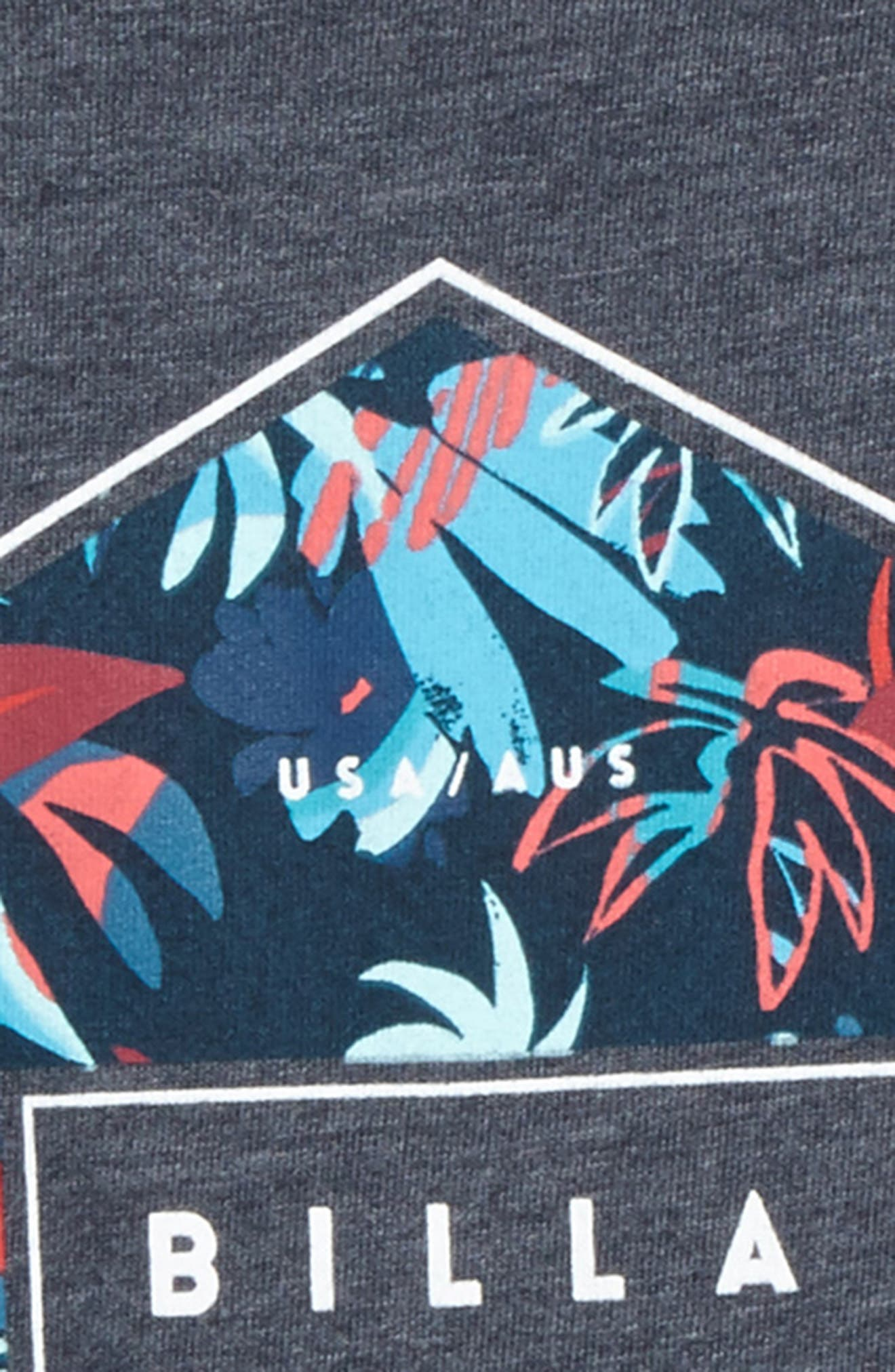 Access Graphic T-Shirt,                             Alternate thumbnail 2, color,                             Indigo Heather