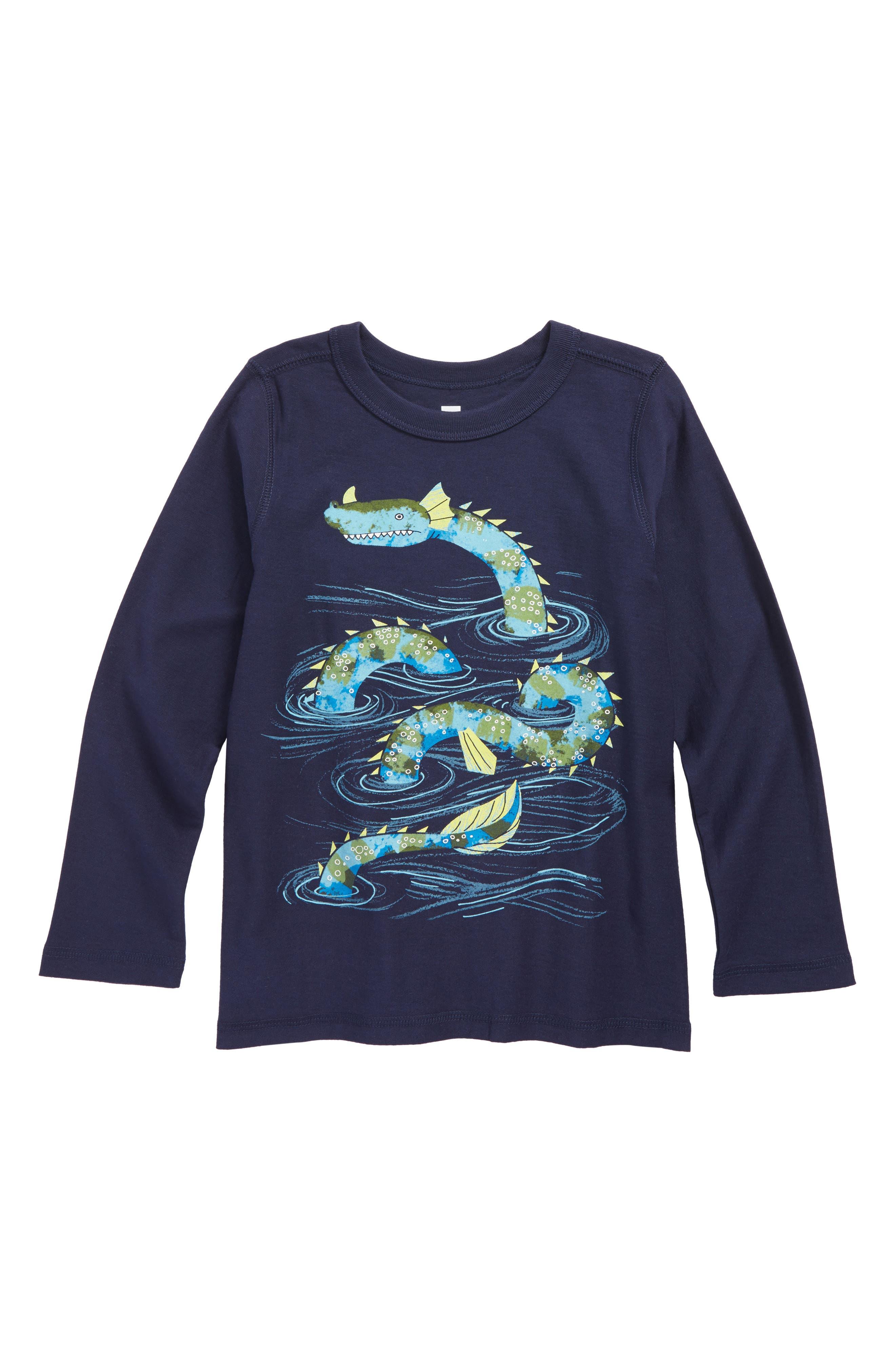 Tea Collection Loch Ness T-Shirt (Toddler Boys & Little Boys)