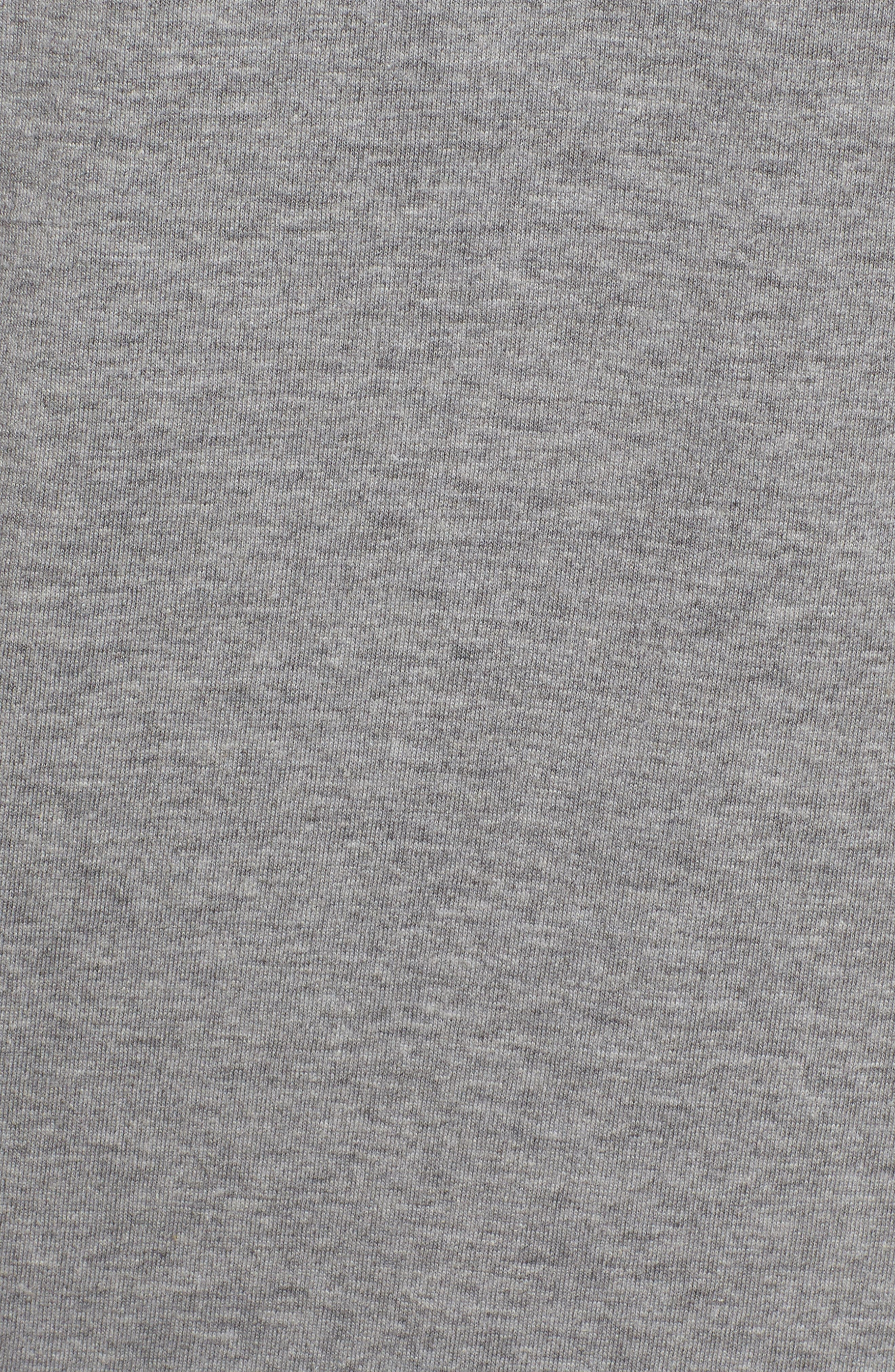 Fringe Watching Graphic T-Shirt,                             Alternate thumbnail 5, color,                             Grey Heather