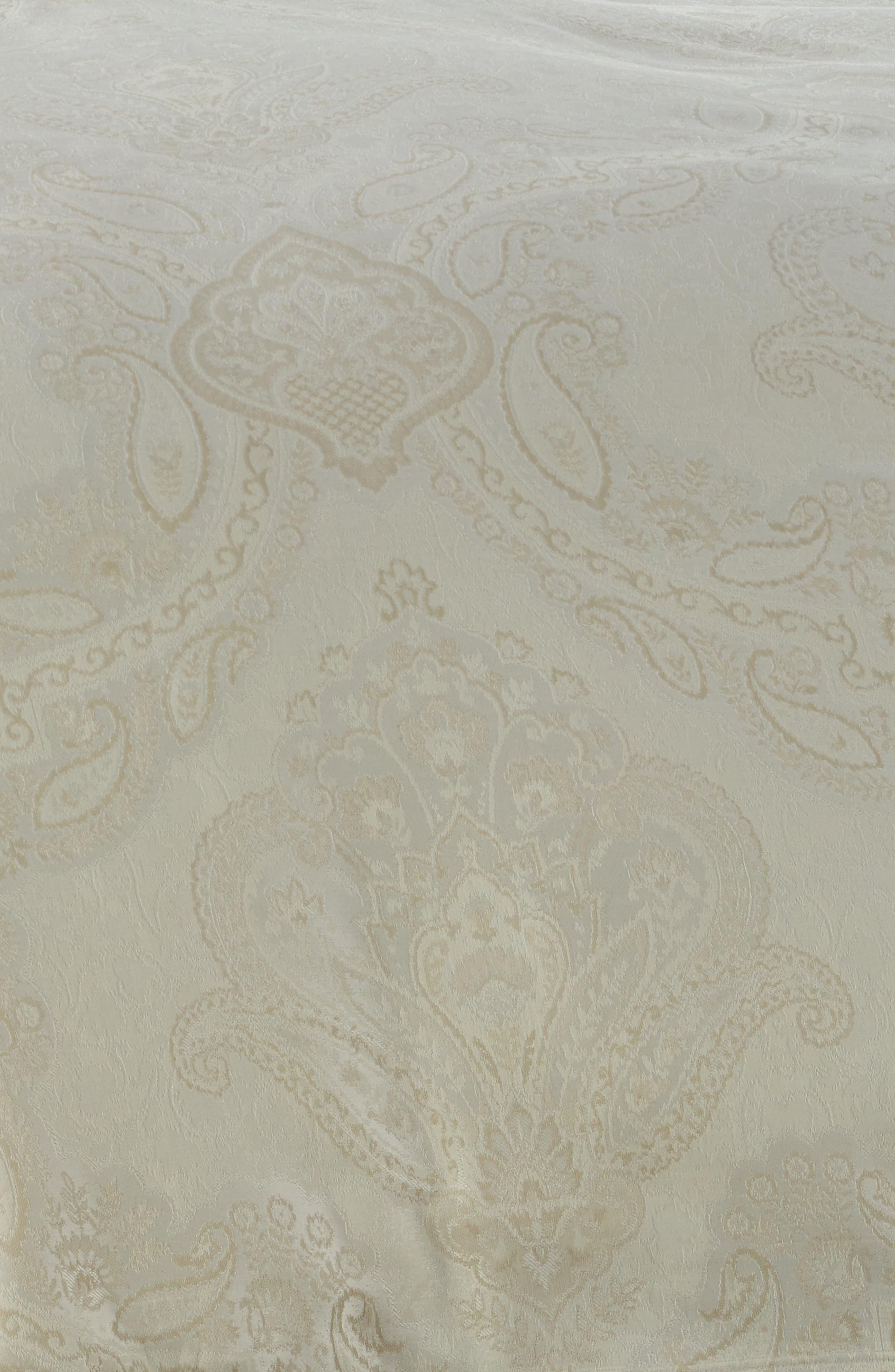 Miretta Duvet Cover,                             Alternate thumbnail 2, color,                             Parchment