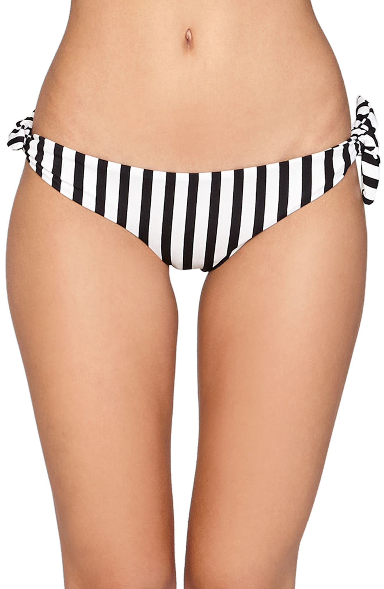 Coline Bikini Bottoms,                             Main thumbnail 1, color,                             Black Sands