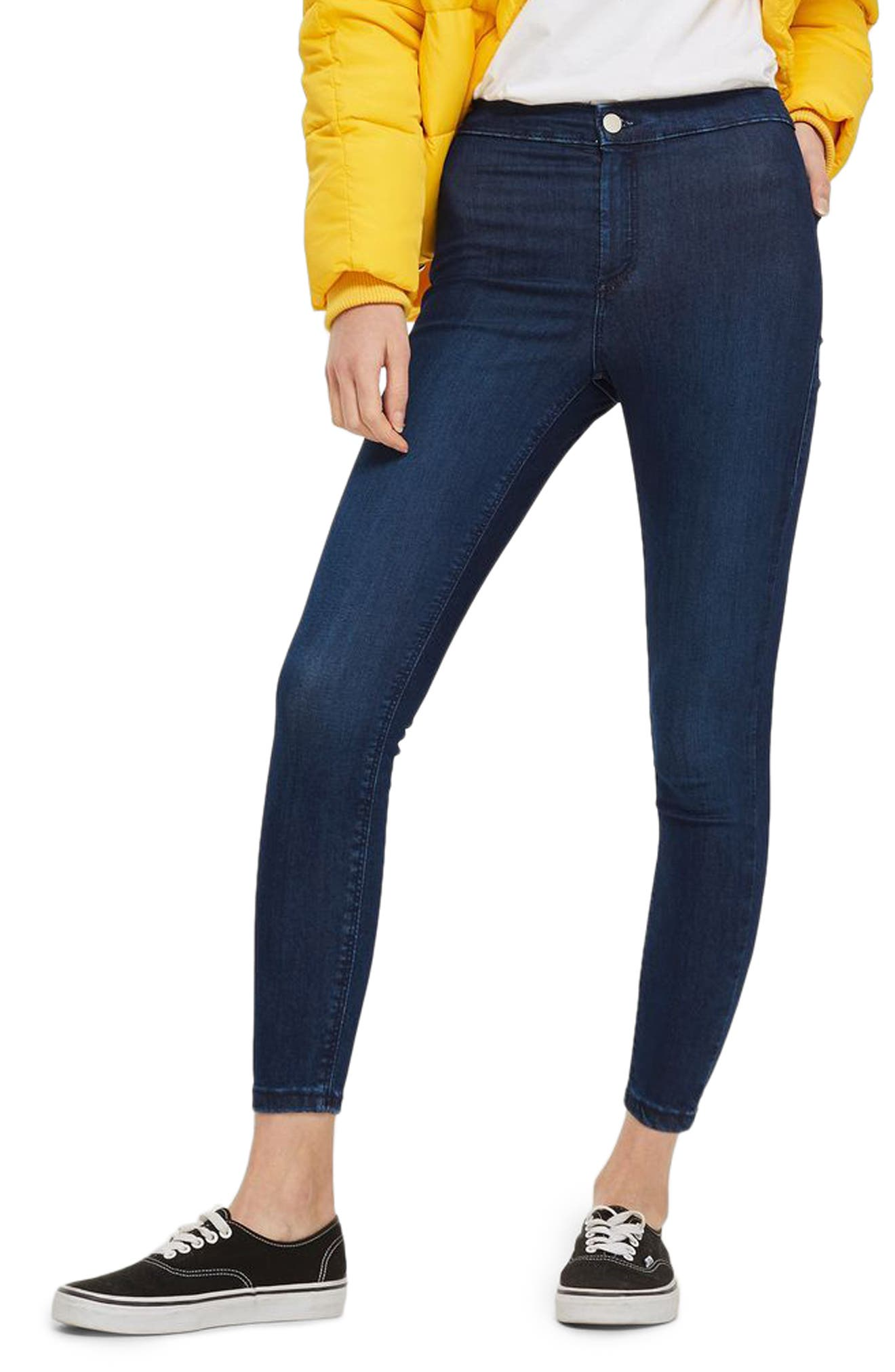 Topshop Joni High Waist Skinny Jeans (Petite)