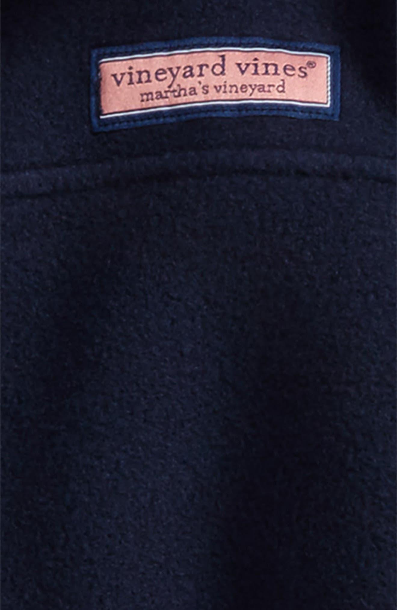 Hooded Full Zip Fleece Jacket,                             Alternate thumbnail 2, color,                             Vineyard Navy