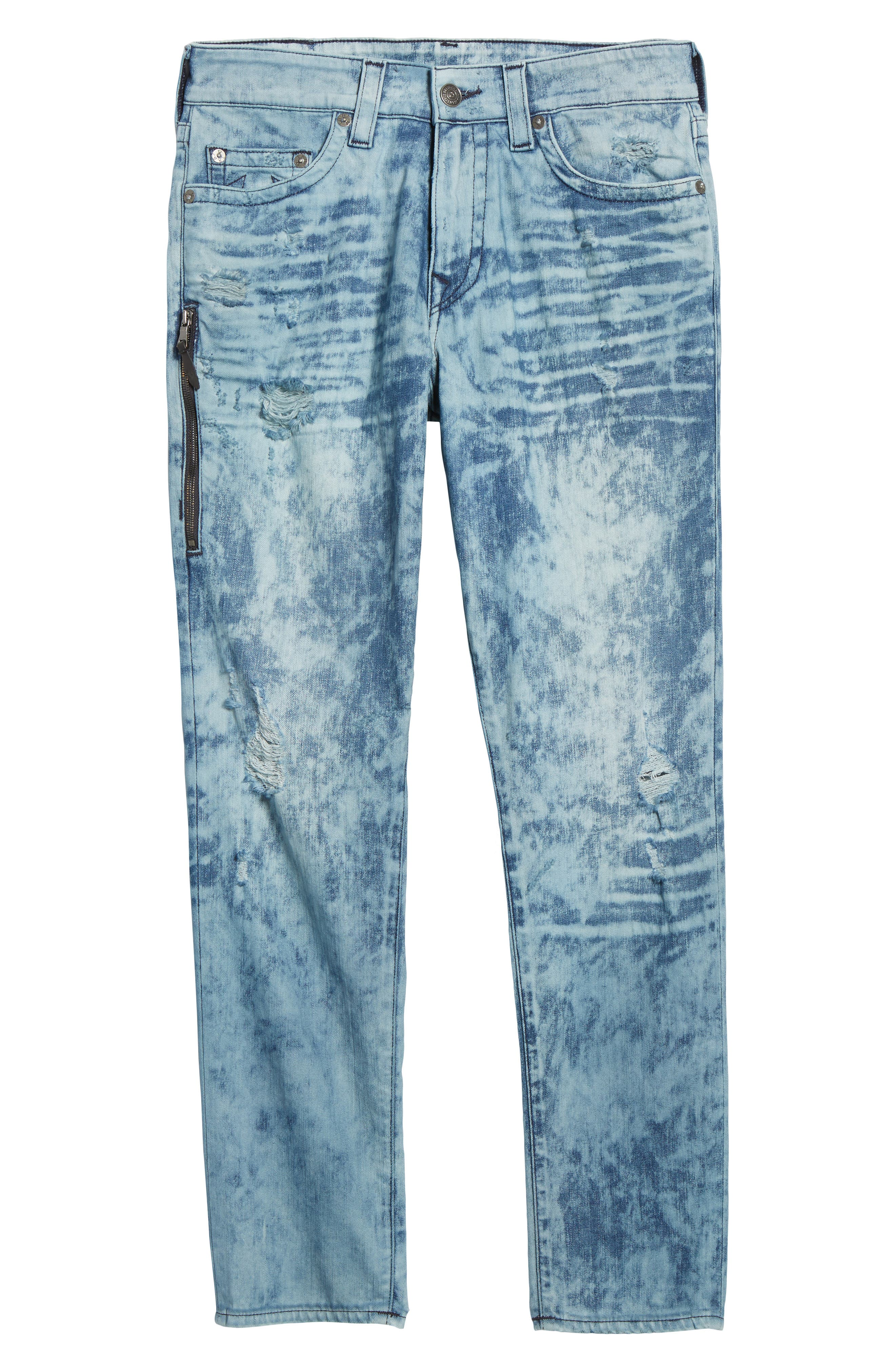 Mick Skinny Fit Jeans,                             Alternate thumbnail 6, color,                             Retro Active