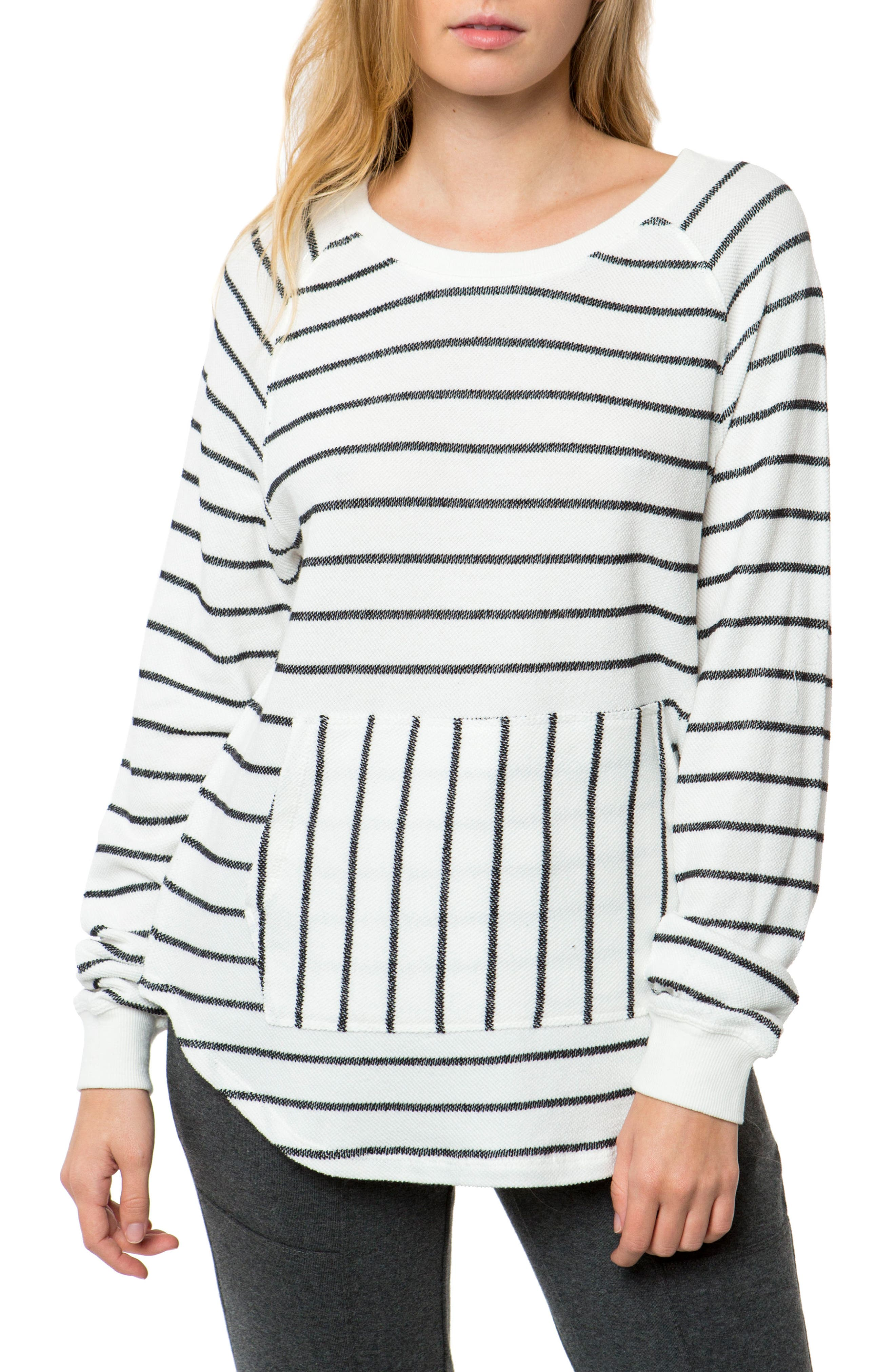 Montauk Pullover Top,                         Main,                         color, Naked