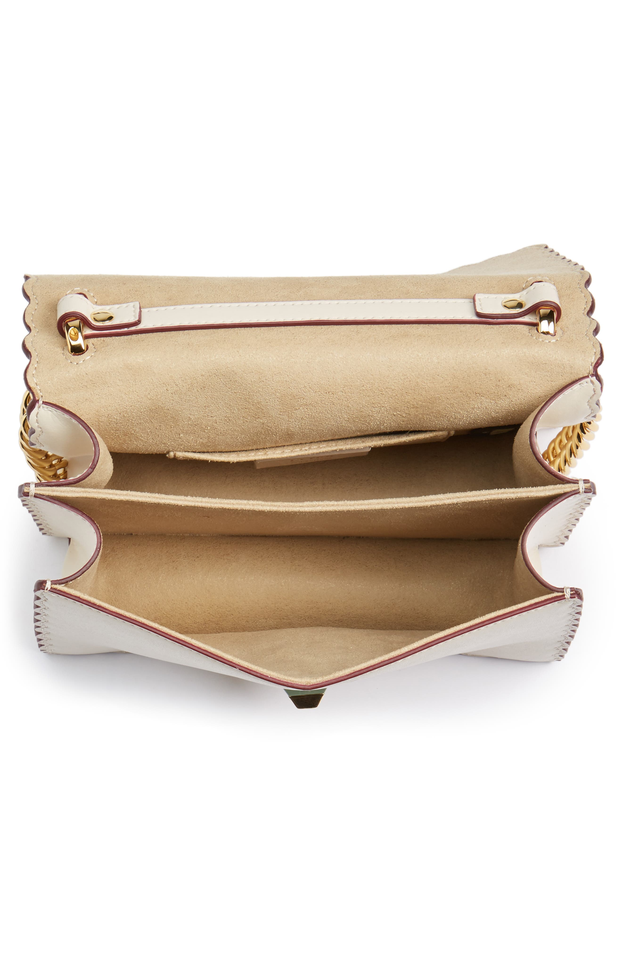 Alternate Image 6  - Fendi Mini Kan I Scalloped Leather Shoulder Bag