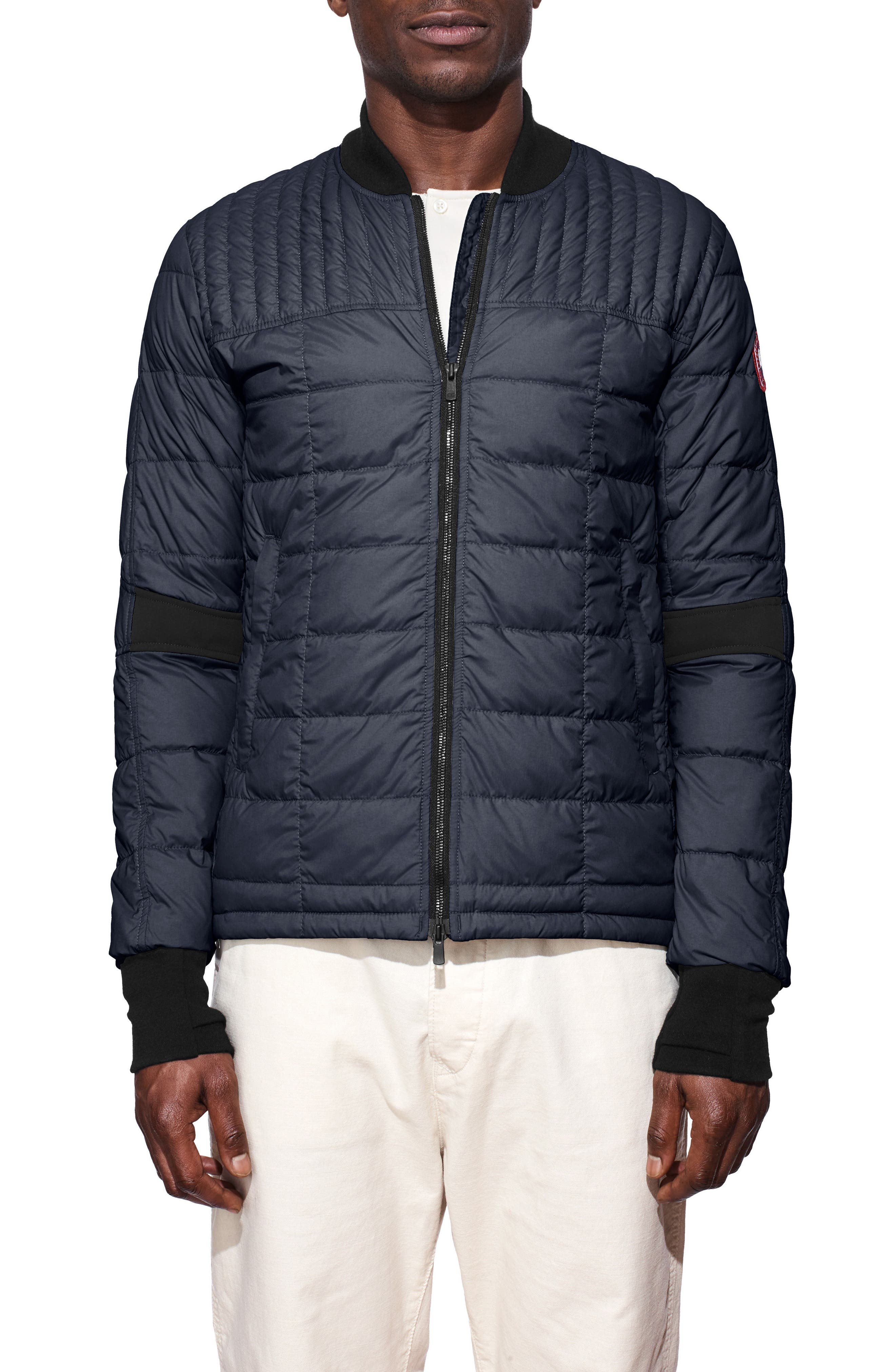 Alternate Image 1 Selected - Canada Goose Dunham Down Bomber Jacket