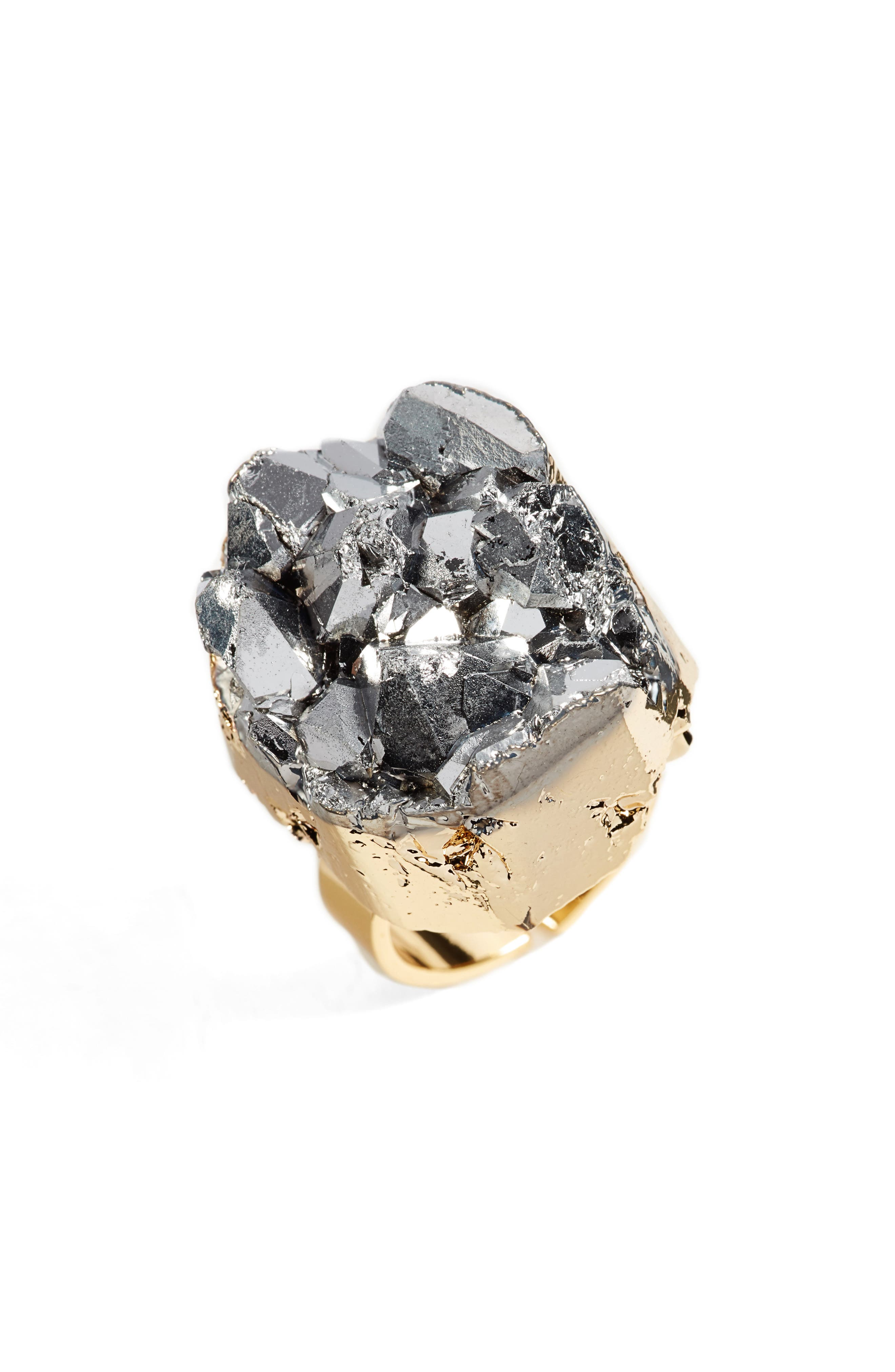 Alternate Image 1 Selected - Elise M. Noa Drusy Quartz Ring
