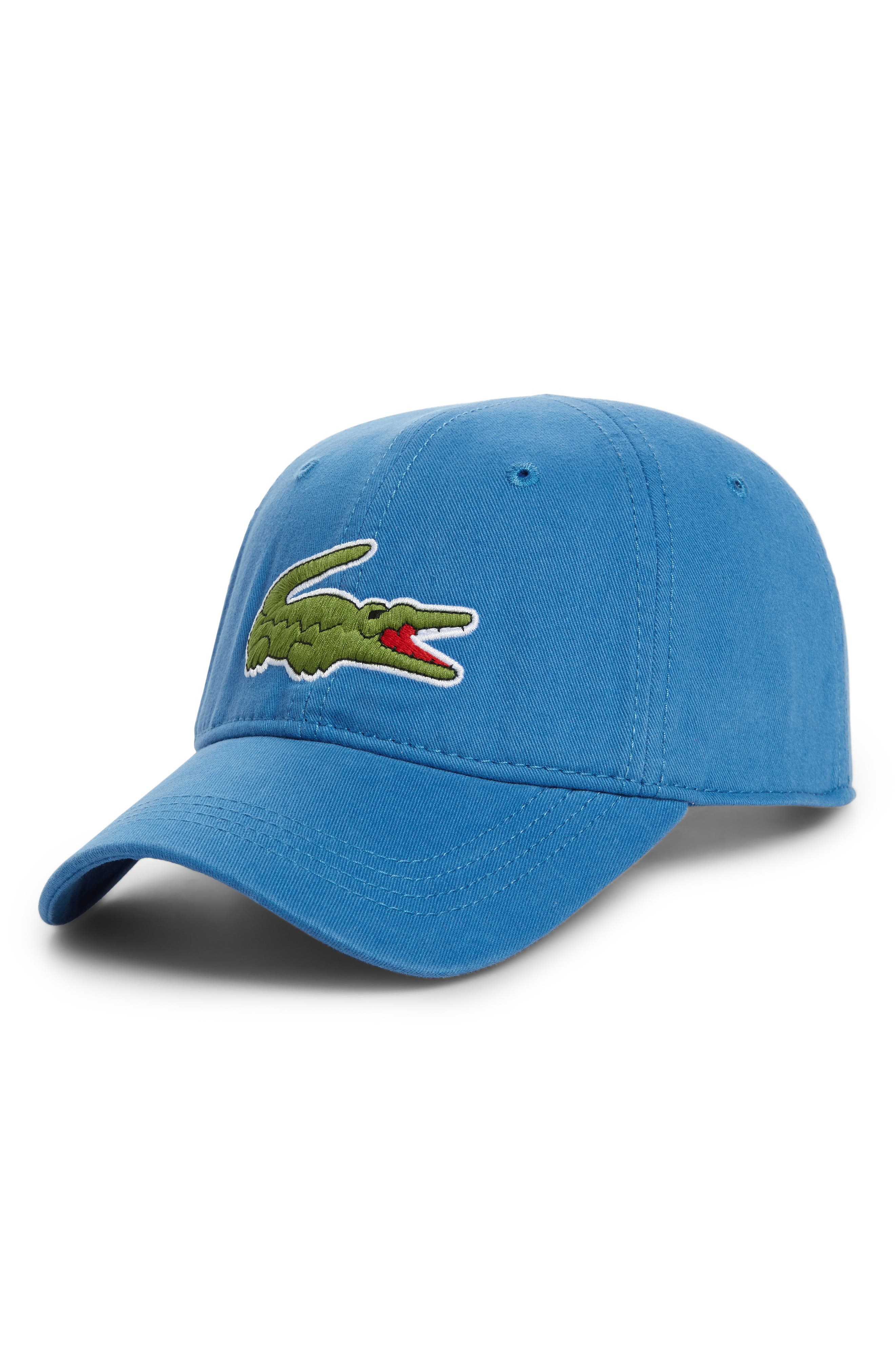 Lacoste  Big Croc  Logo Embroidered Cap - Blue In Medway  992e55a70342