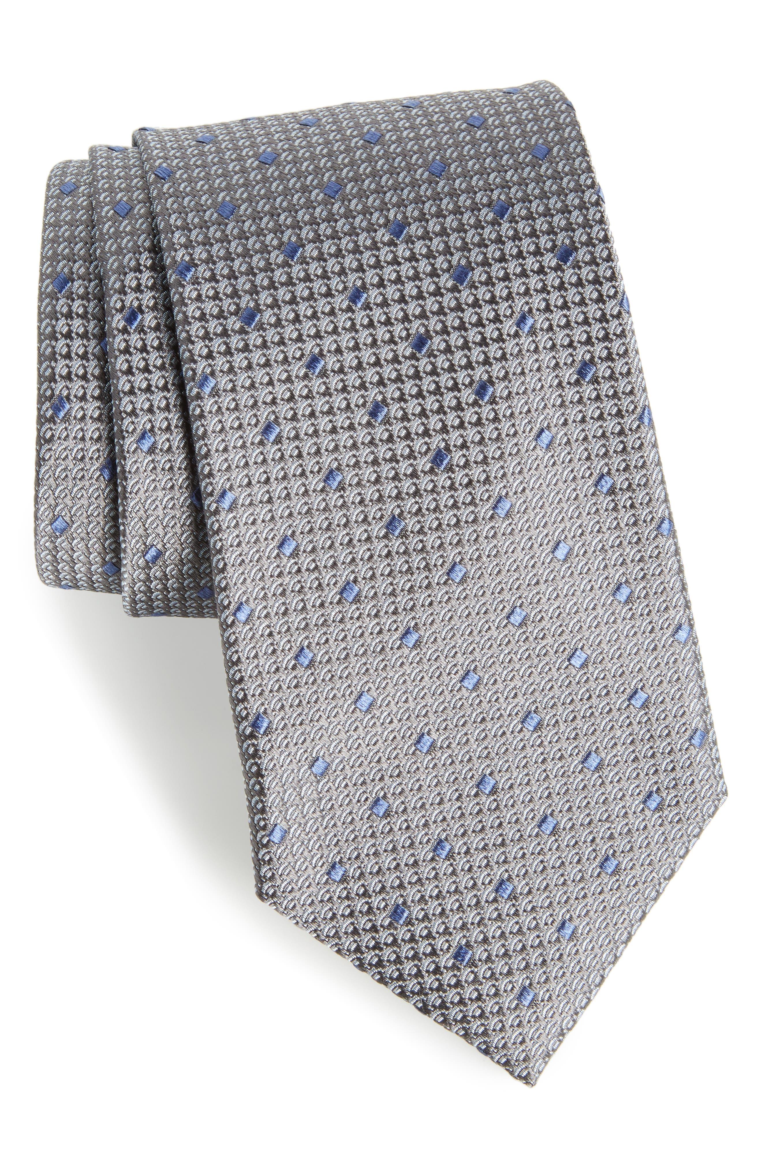Nordstrom Men's Shop Contrada Dot Silk Tie