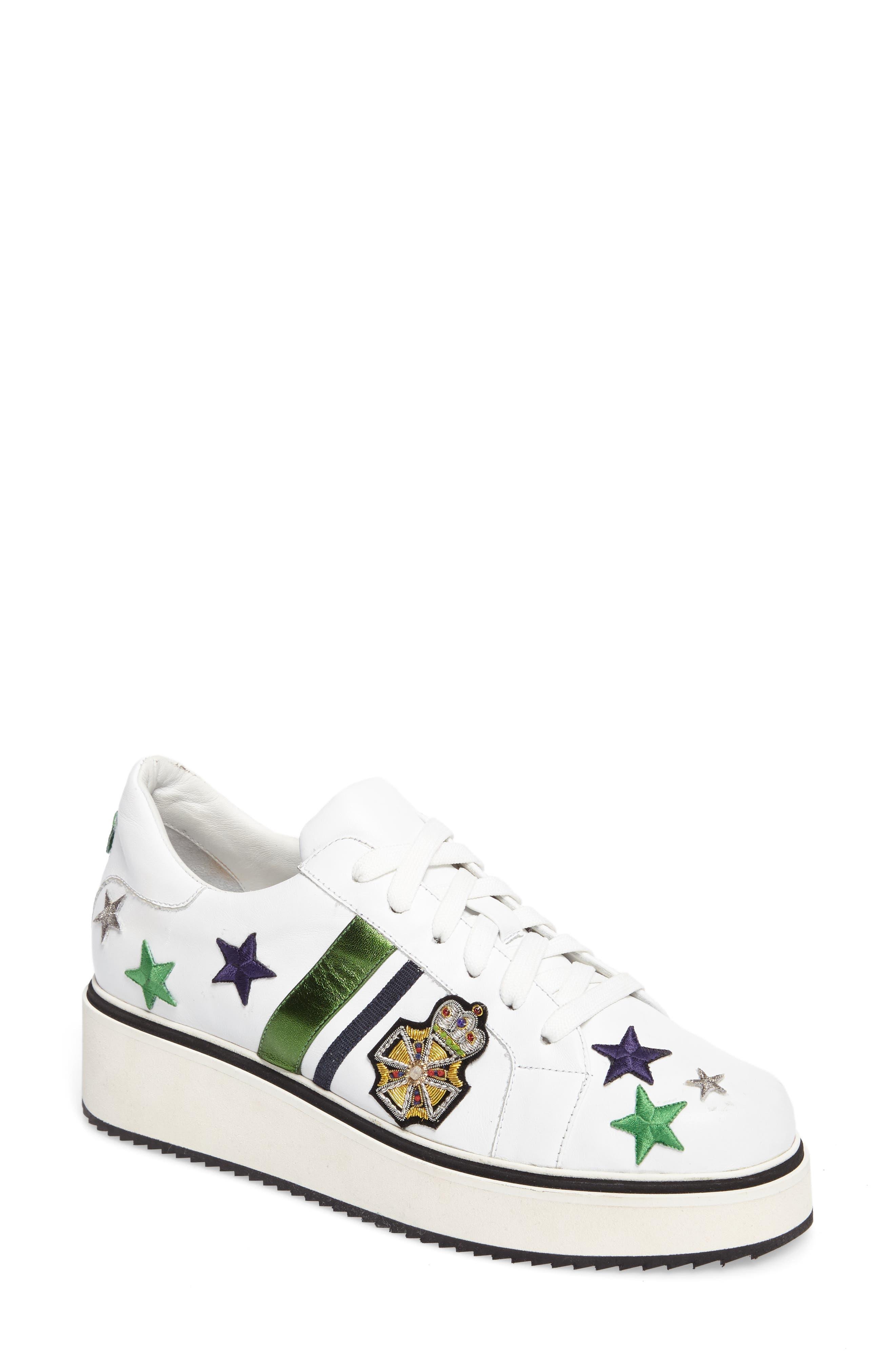 Main Image - Veronica Beard Emmerson Embellished Sneaker (Women)