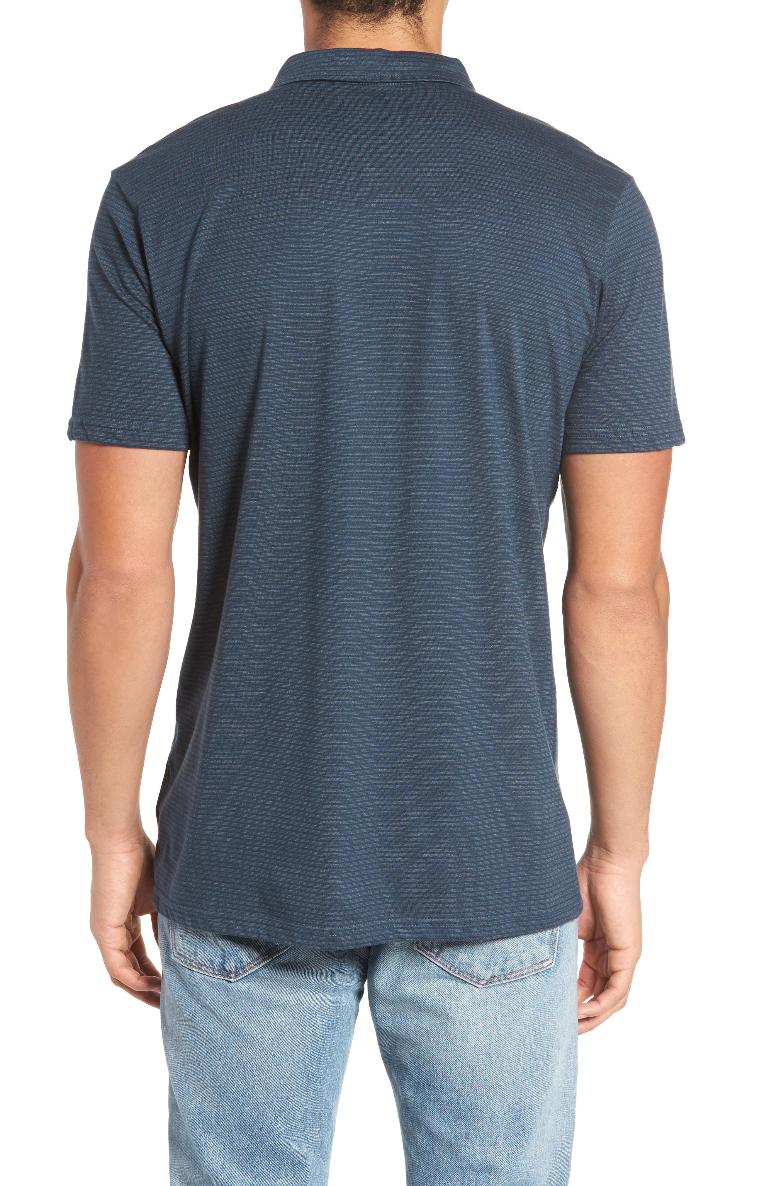 Standard Issue Polo,                             Alternate thumbnail 2, color,                             Navy