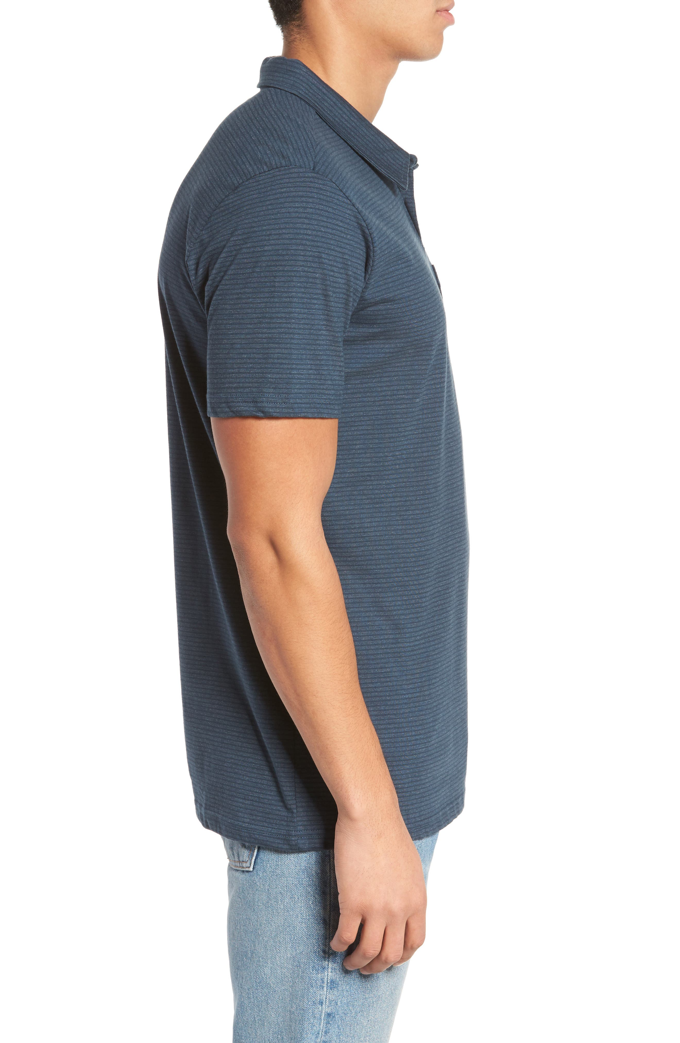 Standard Issue Polo,                             Alternate thumbnail 3, color,                             Navy