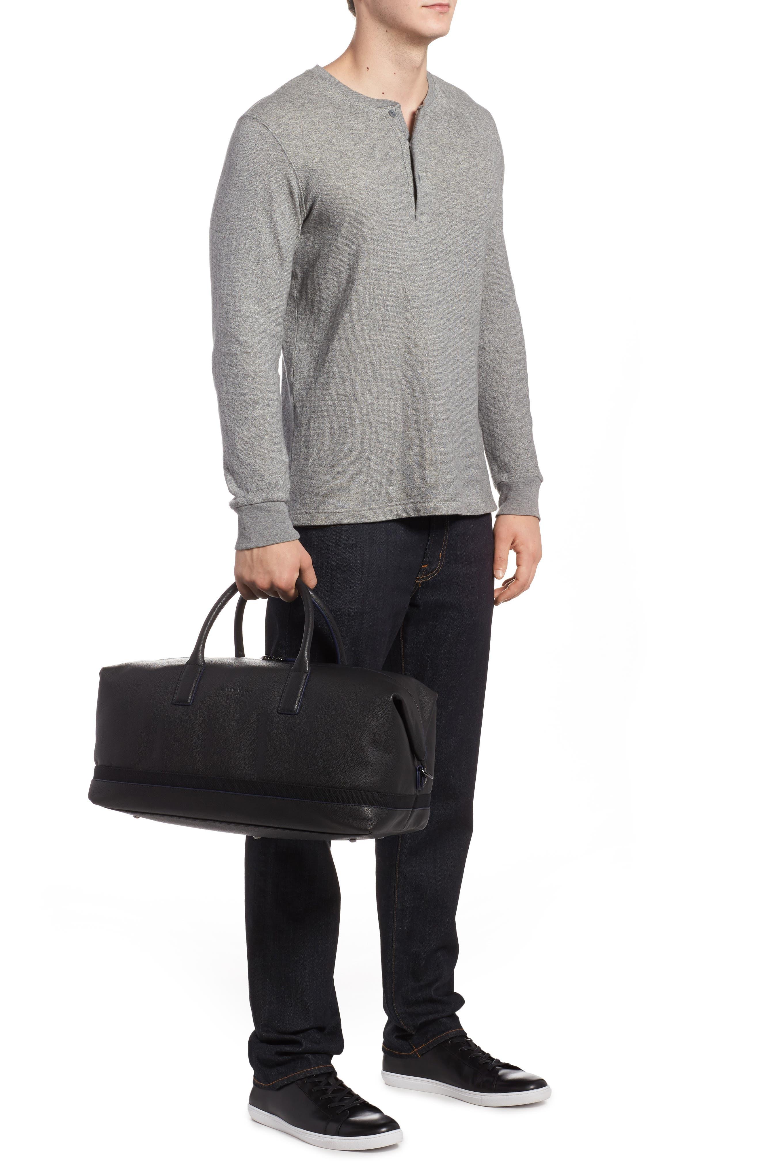 Mylow Duffel Bag,                             Alternate thumbnail 2, color,                             Black