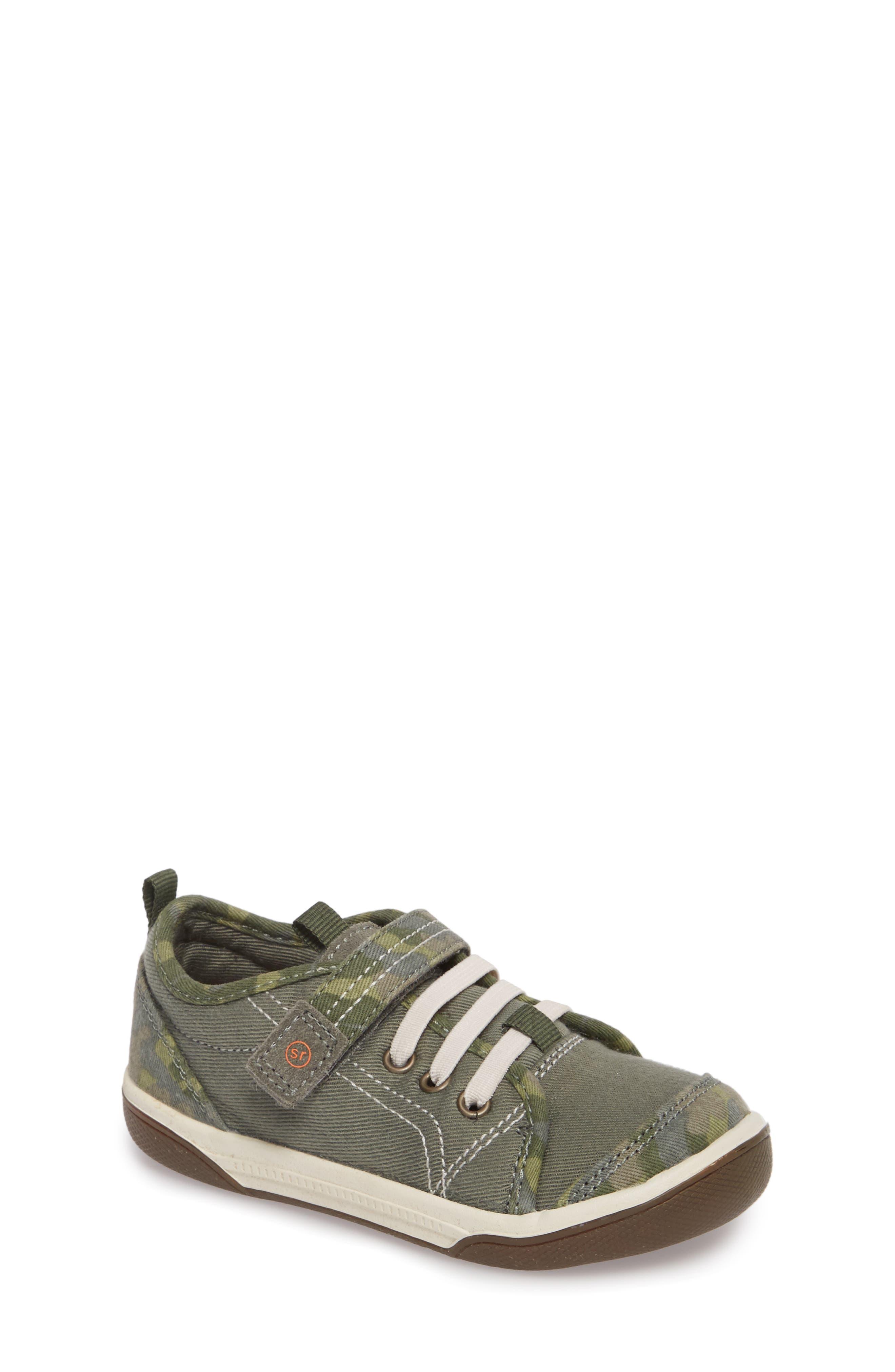 Dakota Sneaker,                             Main thumbnail 1, color,                             Green Camo Canvas