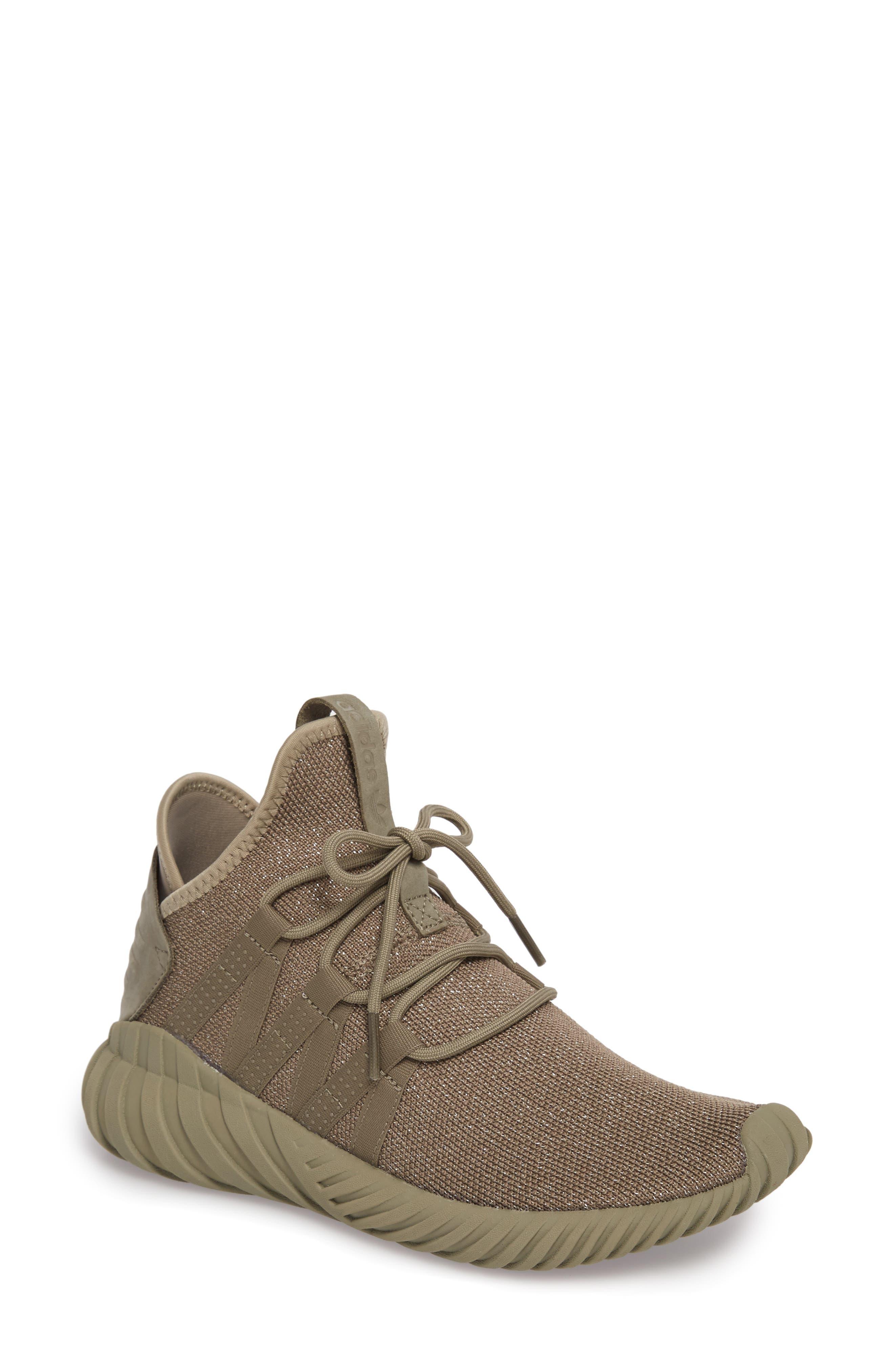 Tubular Dawn Primeknit Sneaker,                             Main thumbnail 1, color,                             Trace Cargo