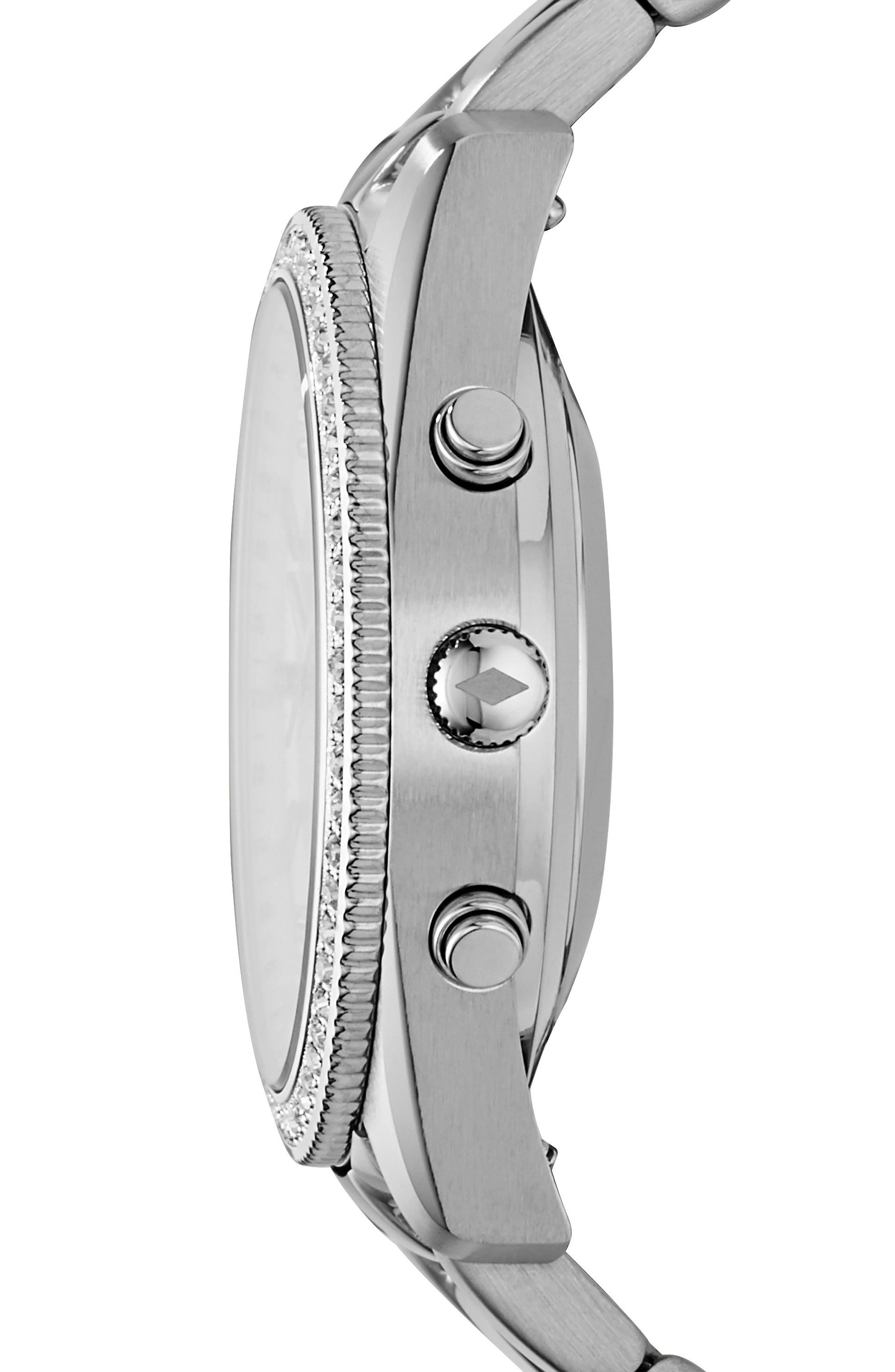 Scarlette Smart Bracelet Watch, 38mm,                             Alternate thumbnail 2, color,                             Silver