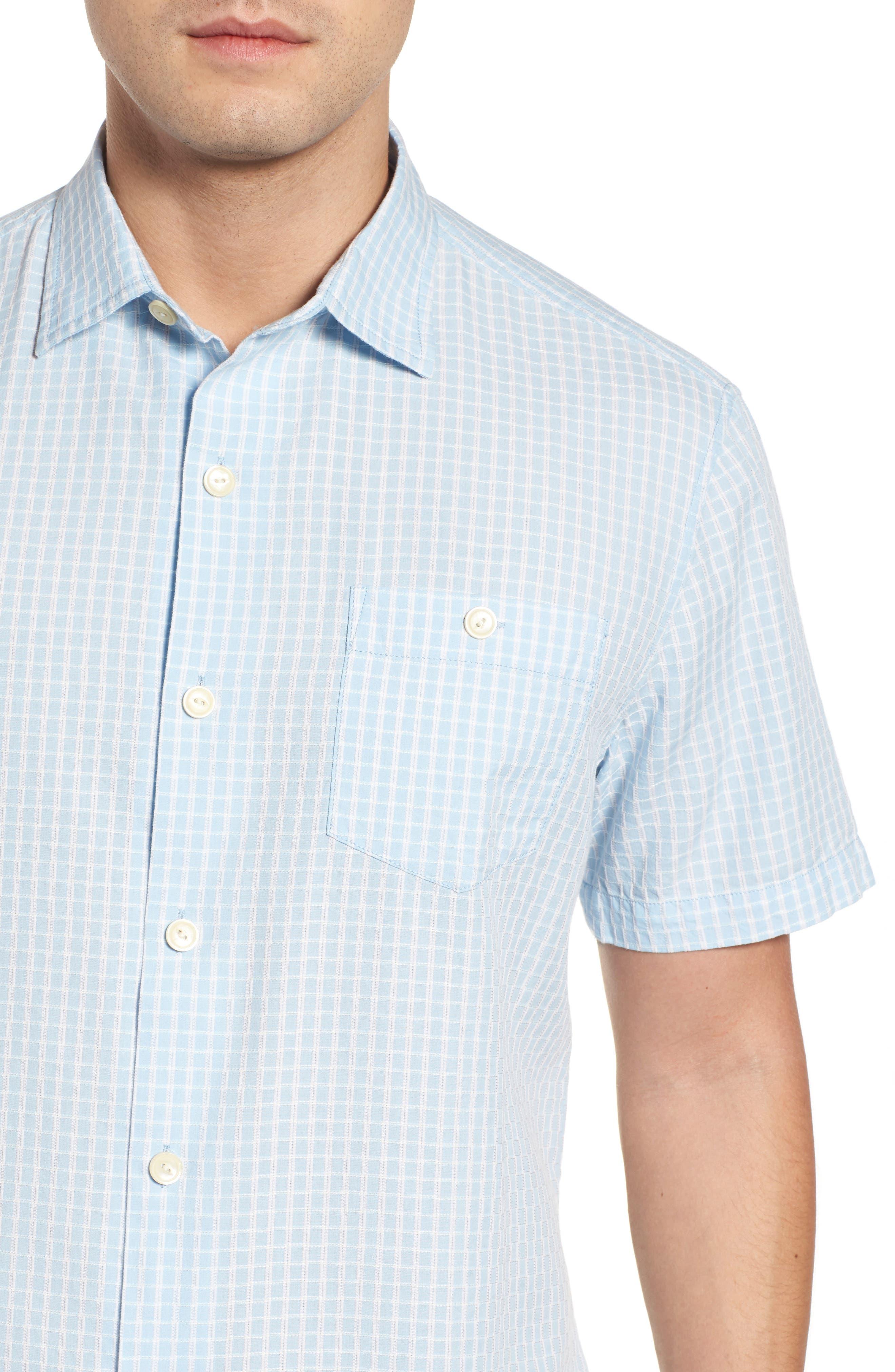 Once in a Tile Regular Fit Sport Shirt,                             Alternate thumbnail 4, color,                             Opal