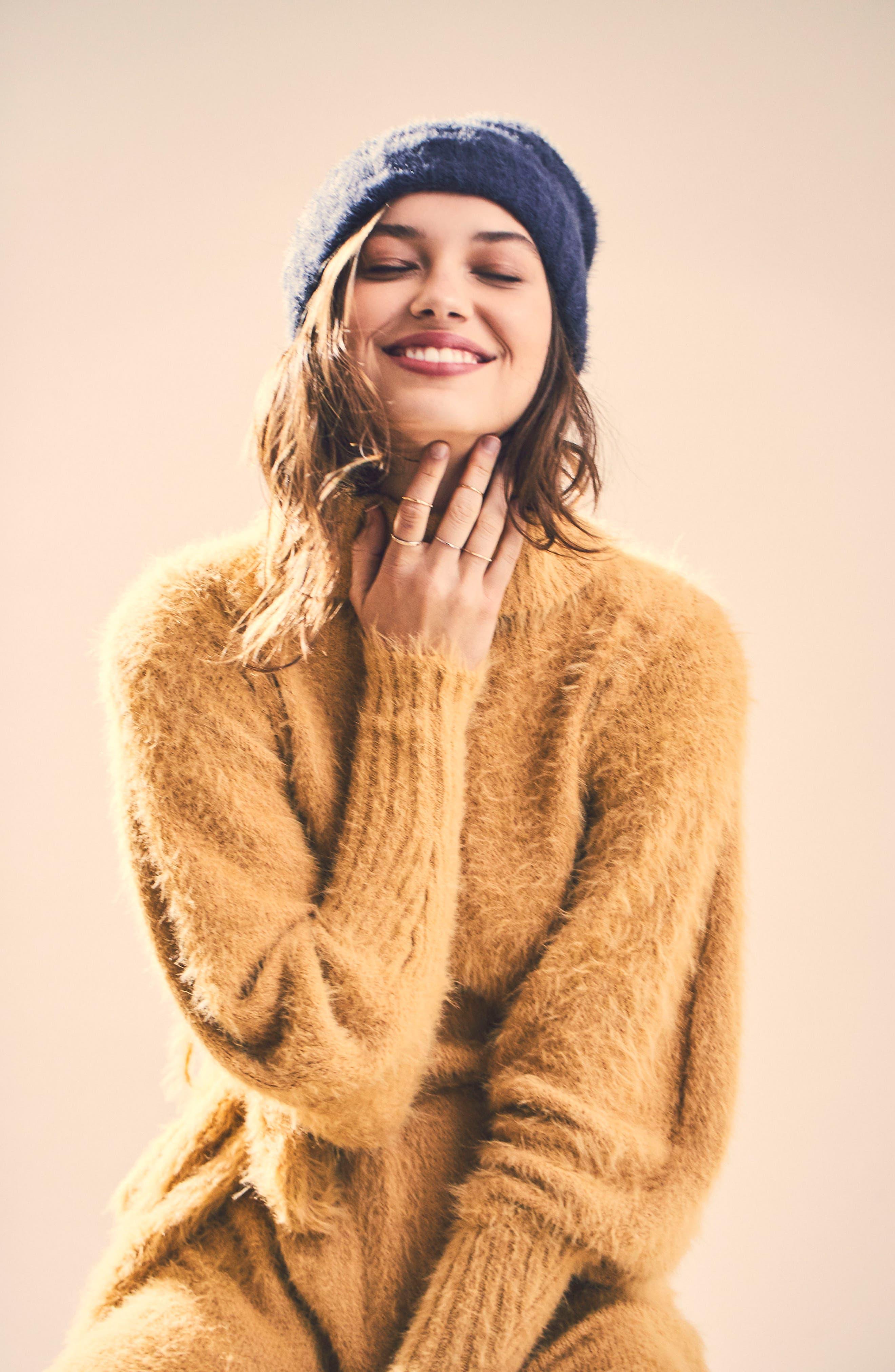 Alternate Image 2  - Free People Honey Turtleneck Minidress