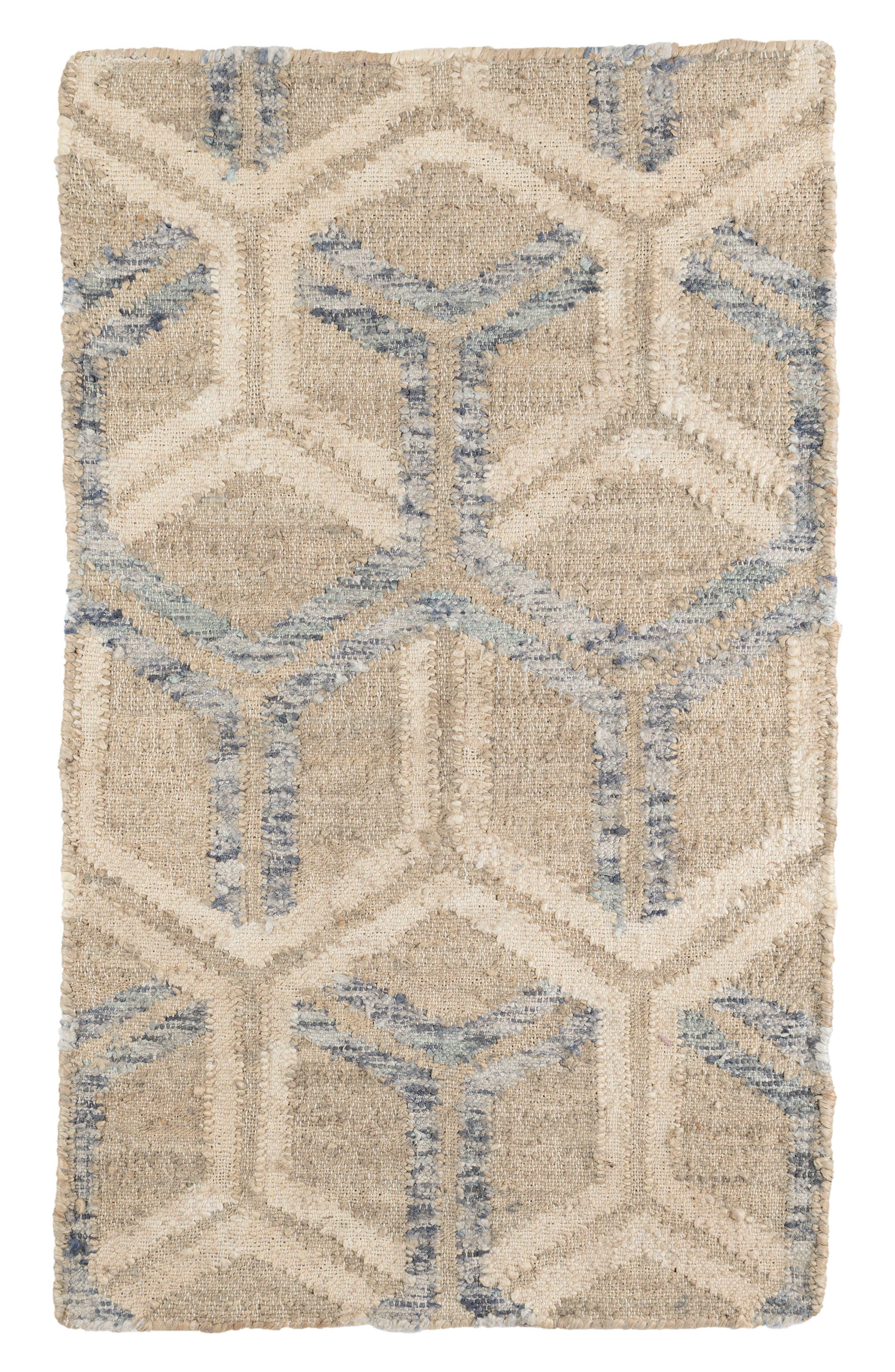 Alternate Image 1 Selected - Dash & Albert Tala Woven Jute & Cotton Rug