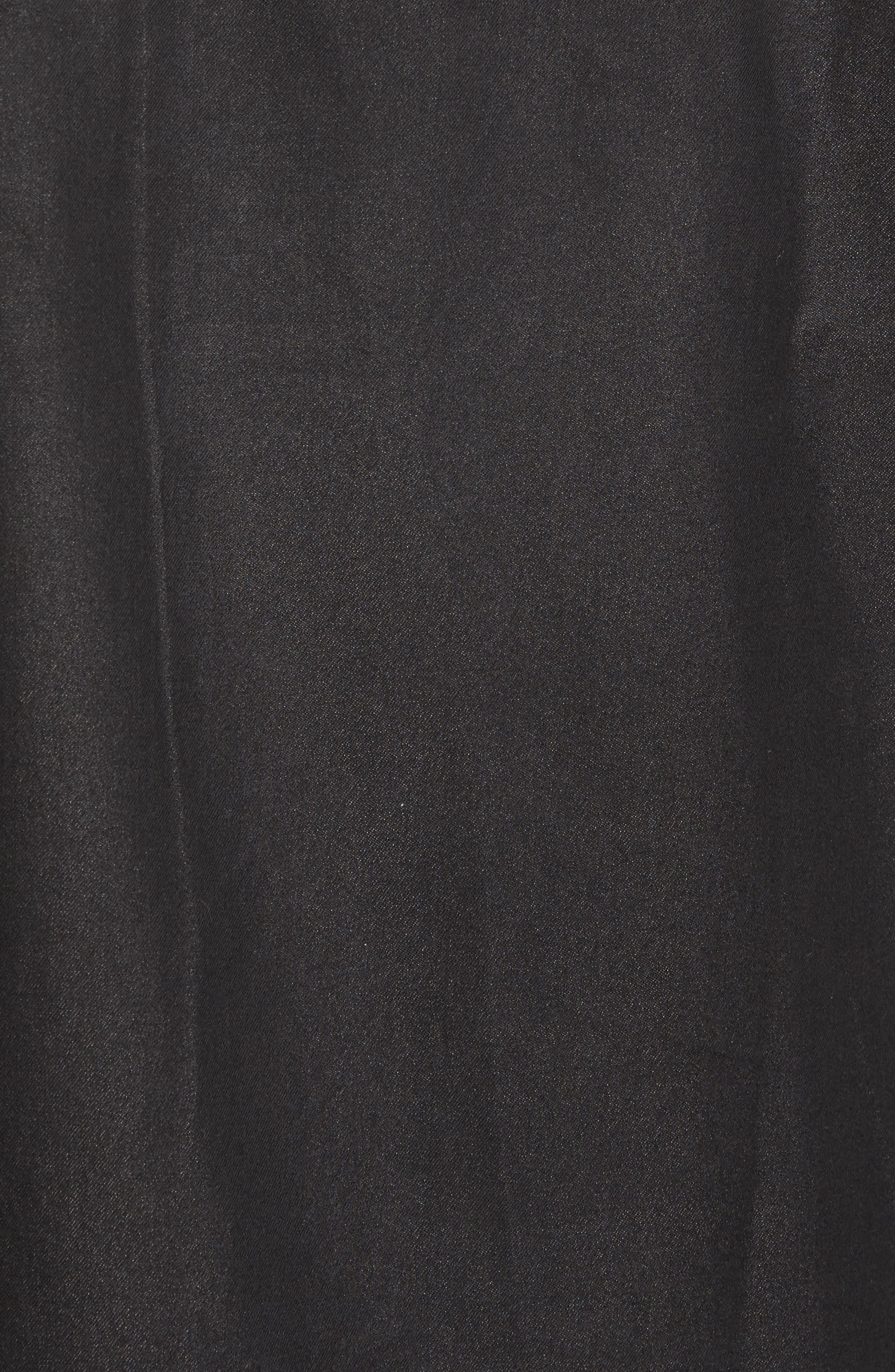Alternate Image 5  - Culturata Trim Fit Resin Wash Denim Shirt