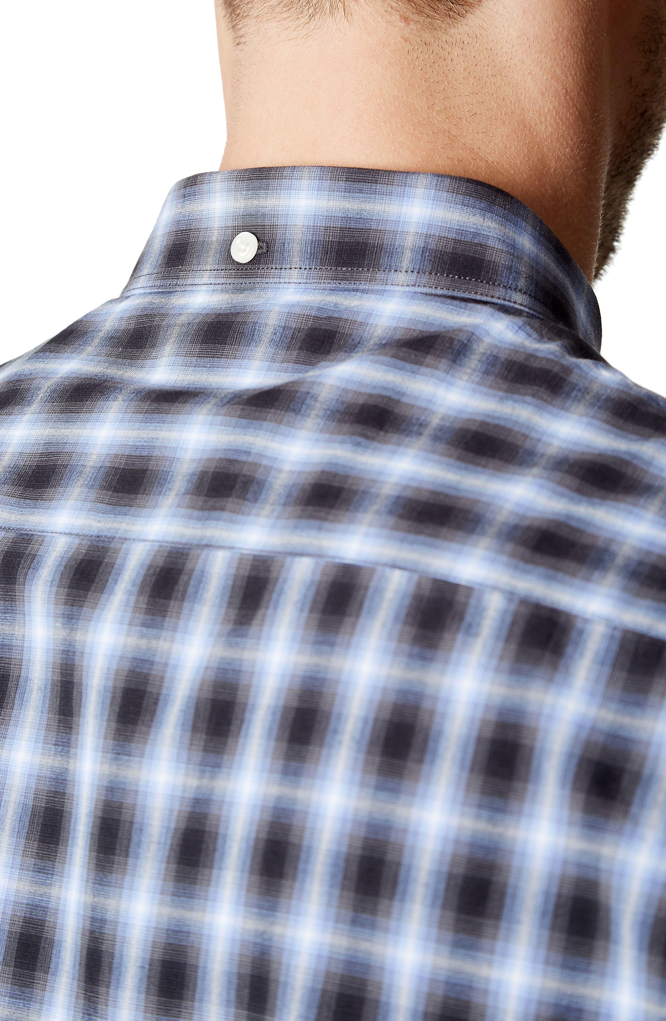 Higher Ground Woven Shirt,                             Alternate thumbnail 4, color,                             Blue