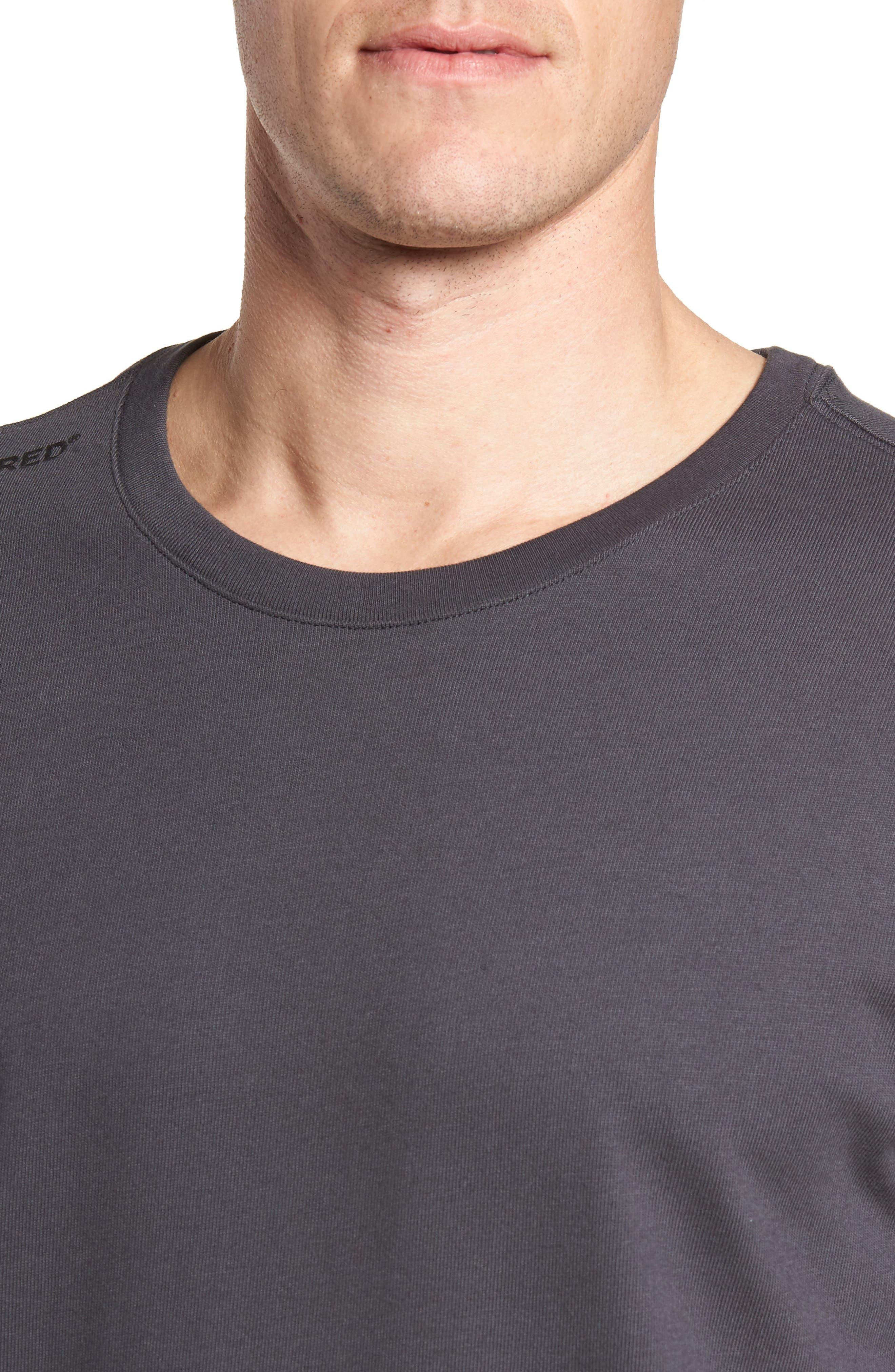 Sportswear 23 Engineered T-Shirt,                             Alternate thumbnail 4, color,                             Anthracite/ Black