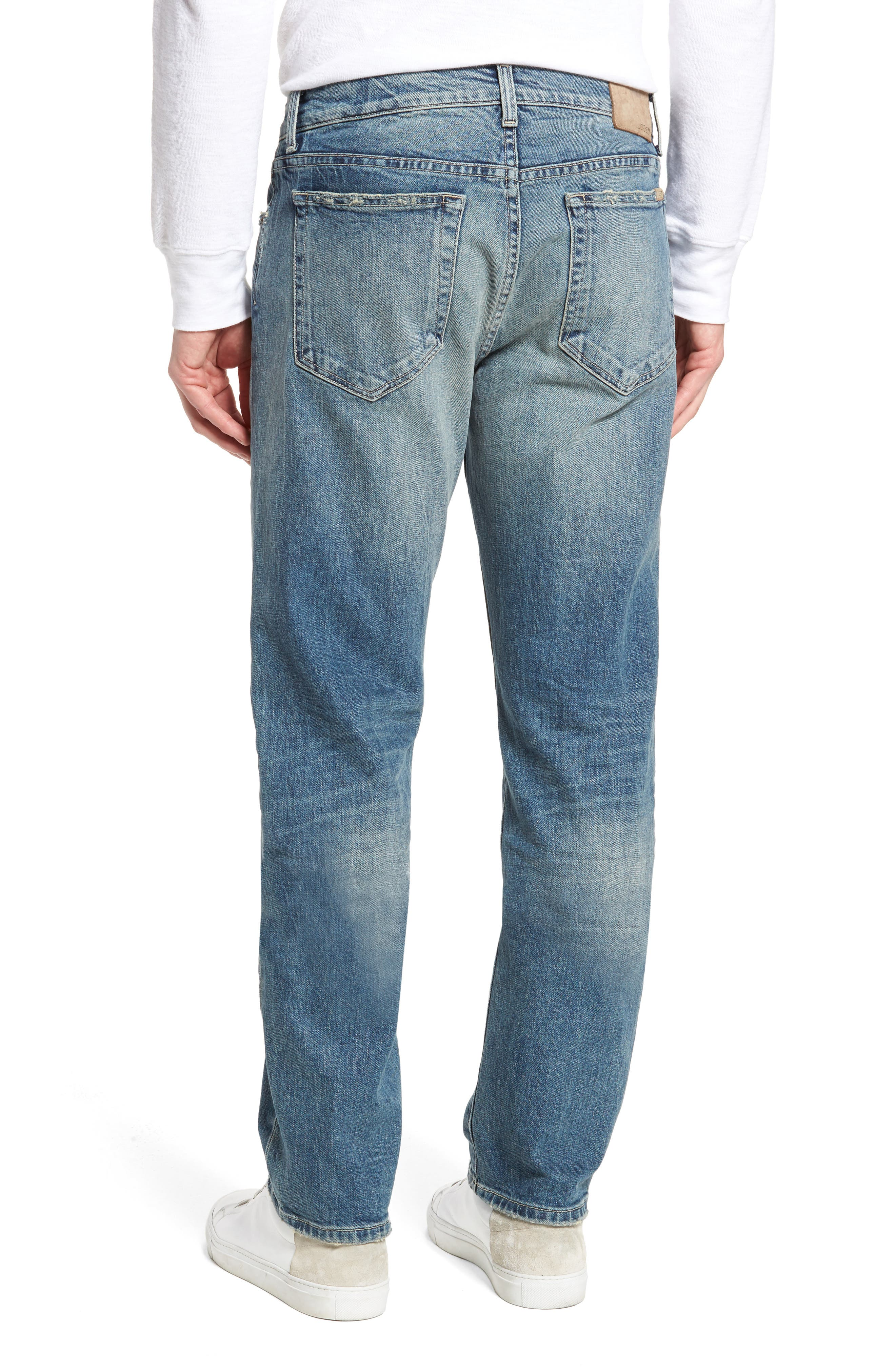 Brixton Slim Straight Fit Jeans,                             Alternate thumbnail 2, color,                             Harken