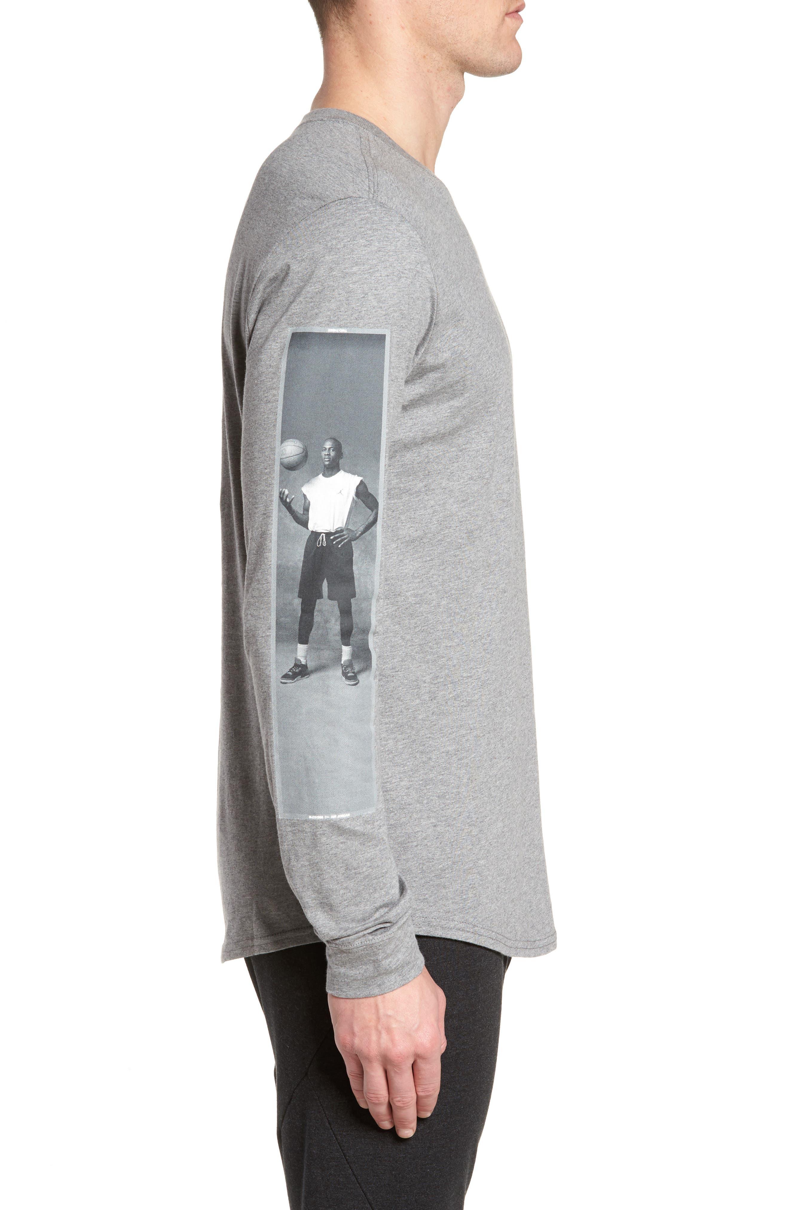 Alternate Image 4  - Nike Jordan Sportswear Photo Sleeve T-Shirt