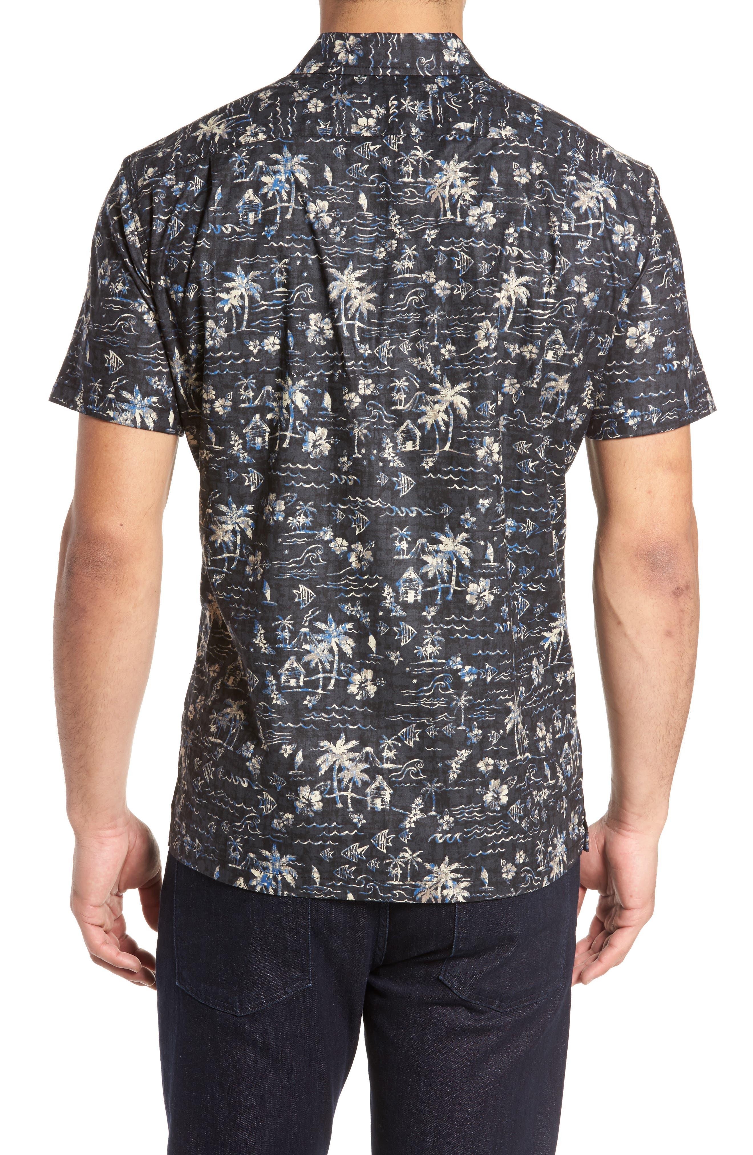 Alternate Image 2  - Tori Richard Smallville Regular Fit Print Sport Shirt