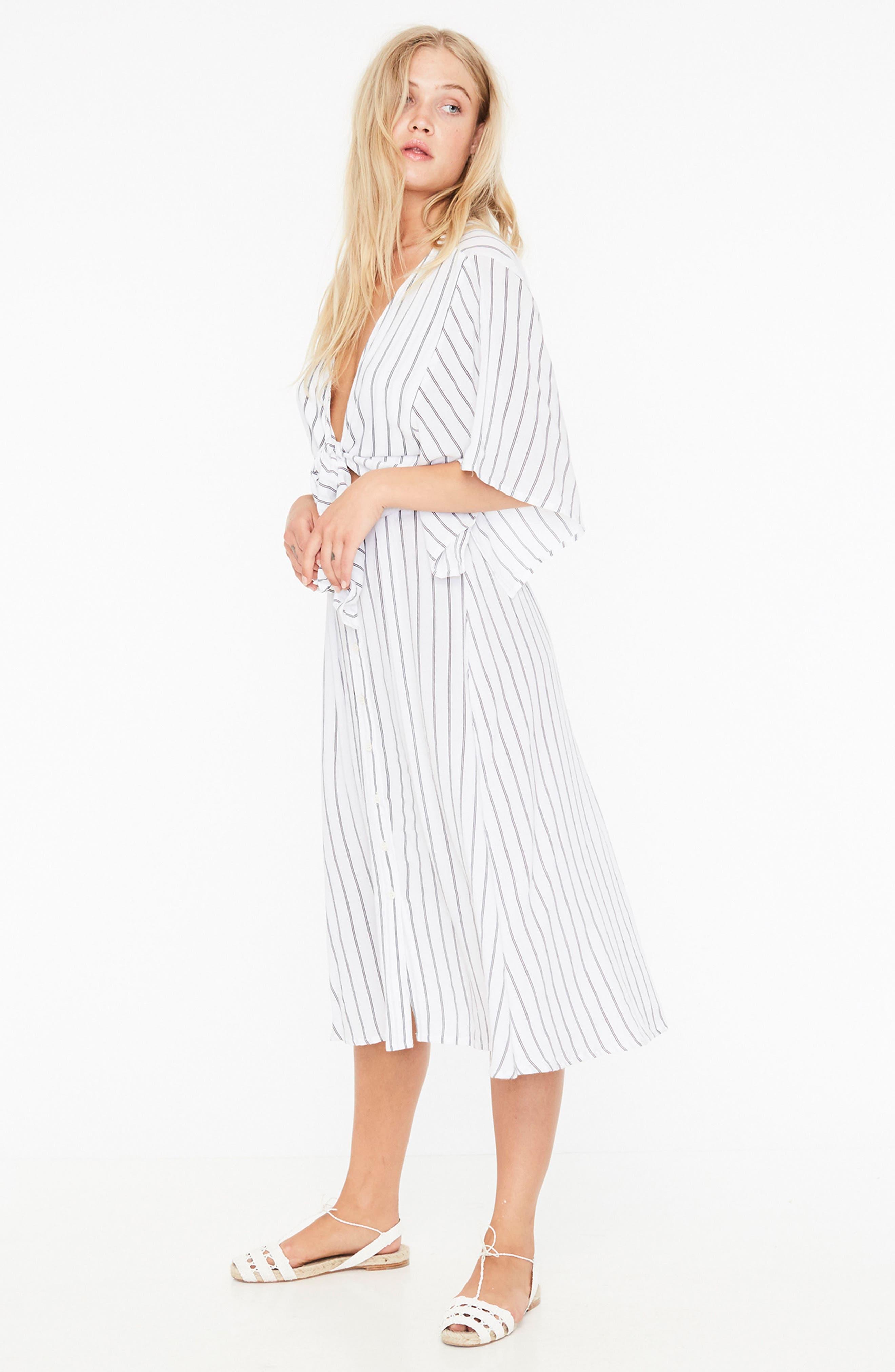 Alternate Image 2  - FAITHFULL THE BRAND Massimo Stripe Midi Dress