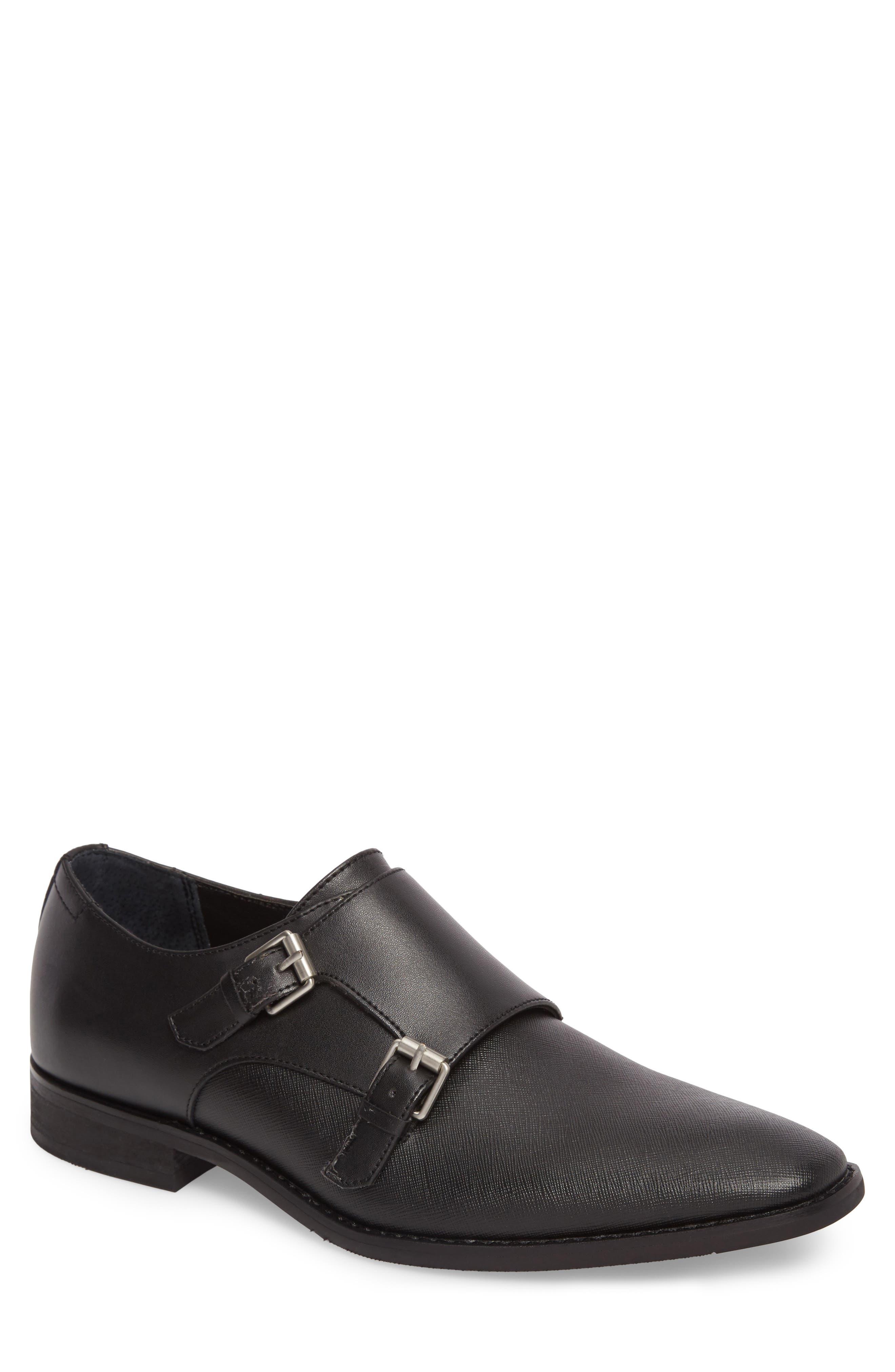 Calvin Klein Robbie Double Monk Strap Shoe (Men)