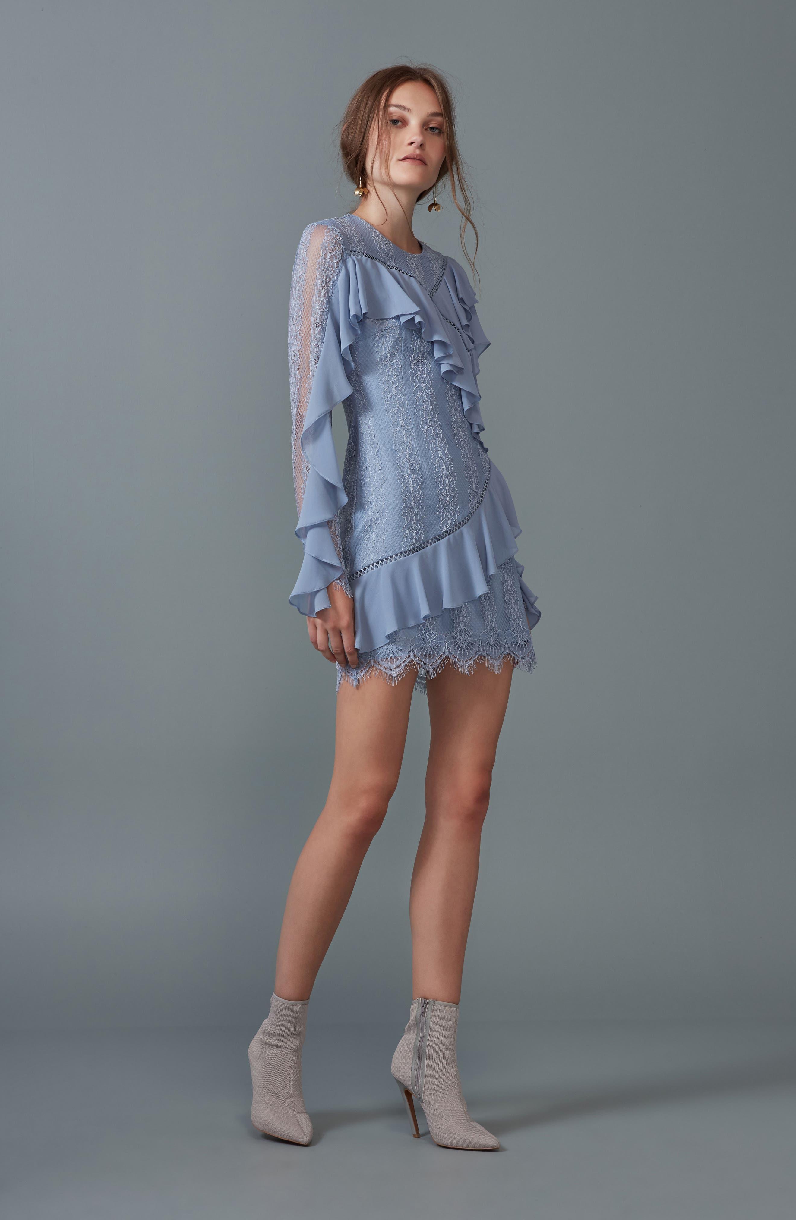 Alternate Image 2  - Keepsake the Label Better Days Lace Minidress