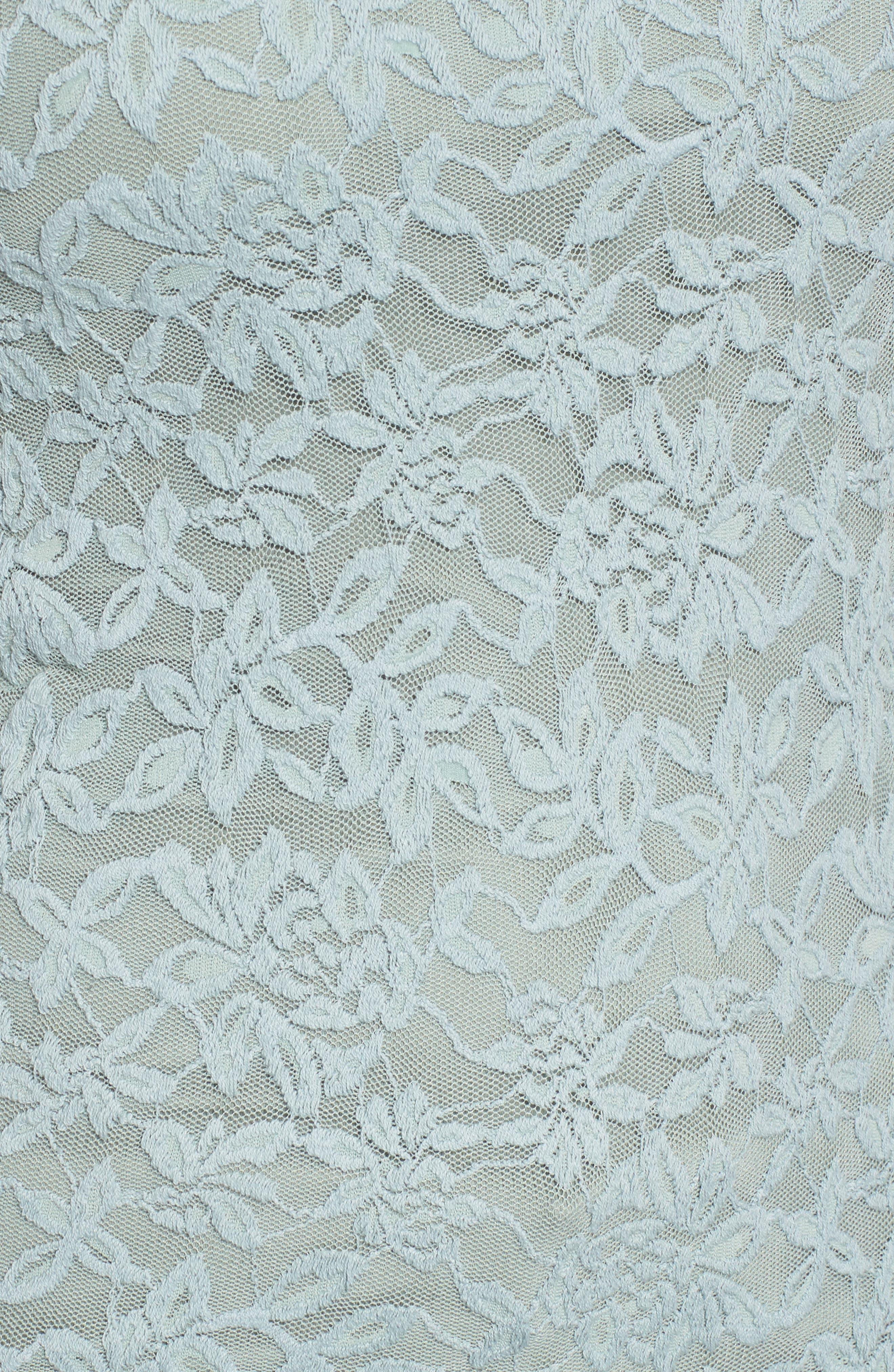 Delicia Long Sleeve Top,                             Alternate thumbnail 5, color,                             Puritan Grey