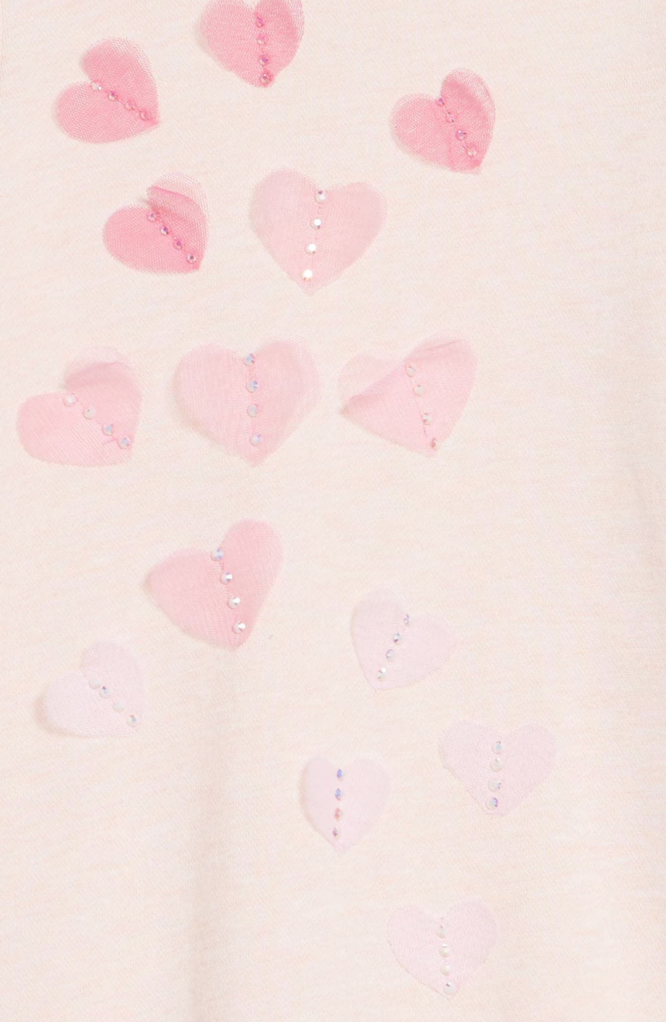Ruffle Sleeve Dress,                             Alternate thumbnail 4, color,                             Pink
