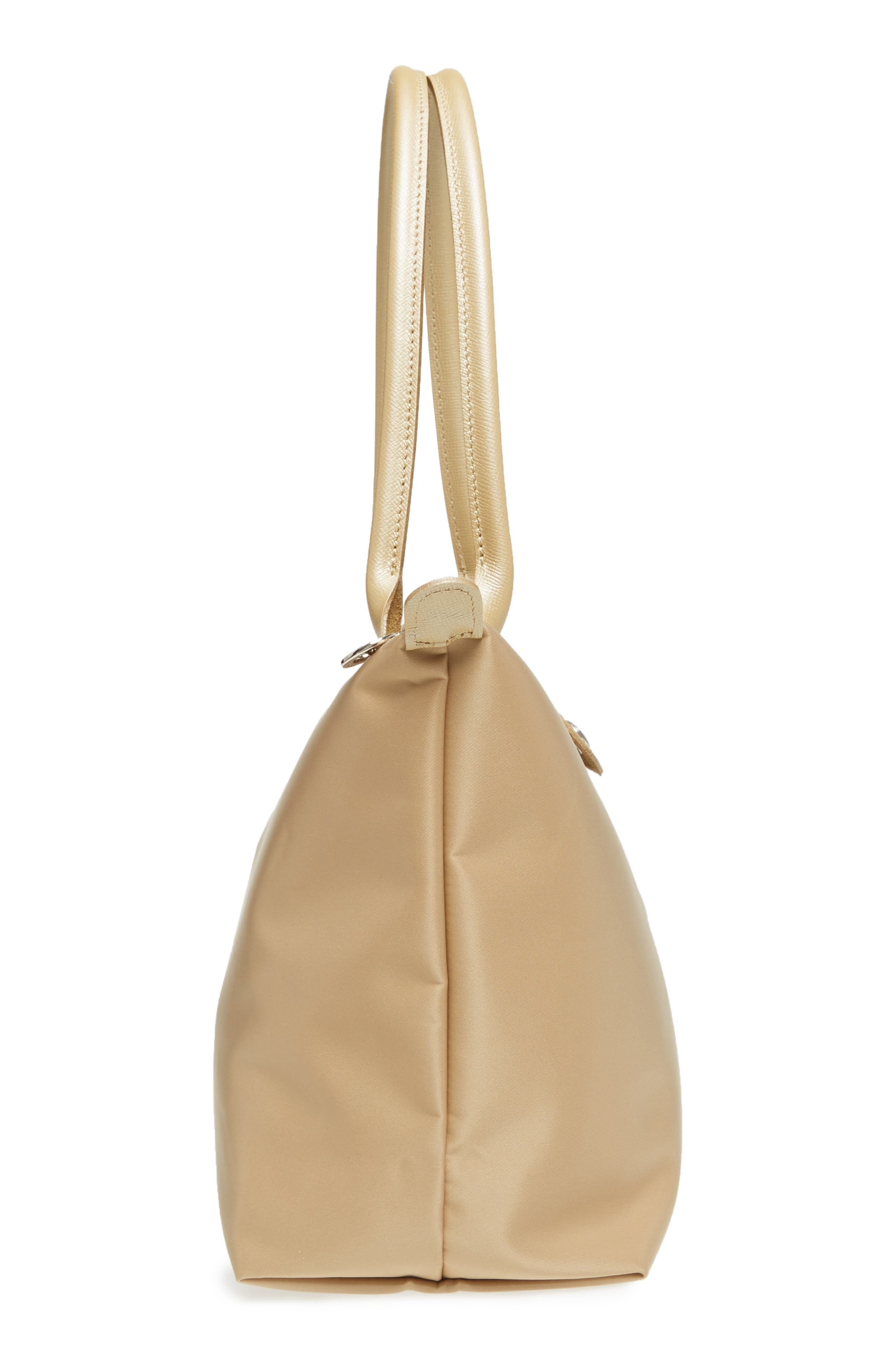Small Le Pliage Neo Tote,                             Alternate thumbnail 5, color,                             Gold