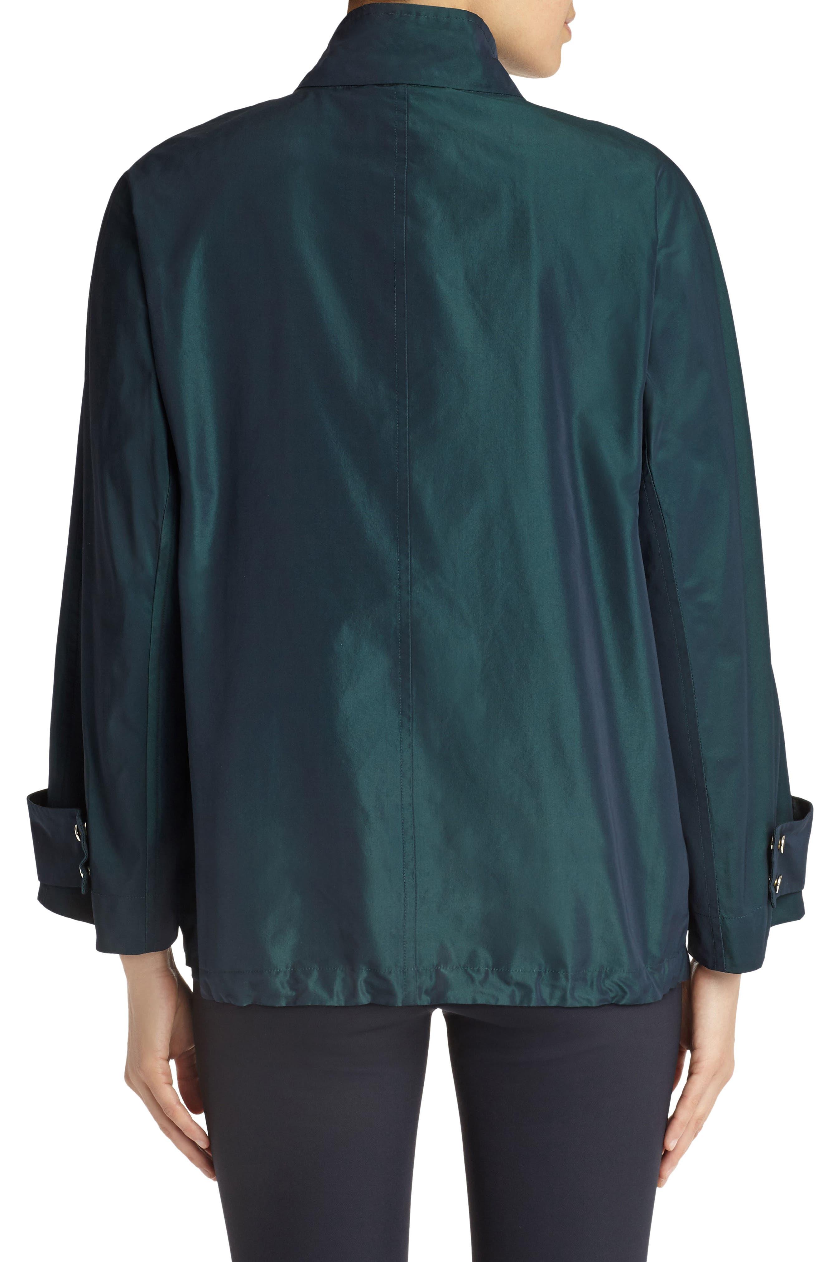 Markus Empirical Tech Cloth Jacket,                             Alternate thumbnail 2, color,                             Blue Spruce Iridescent